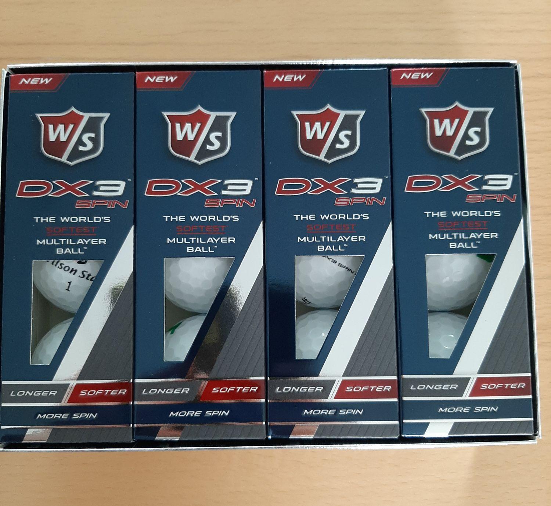 Golfbälle Wilson 12 Stück NEU kostenlos