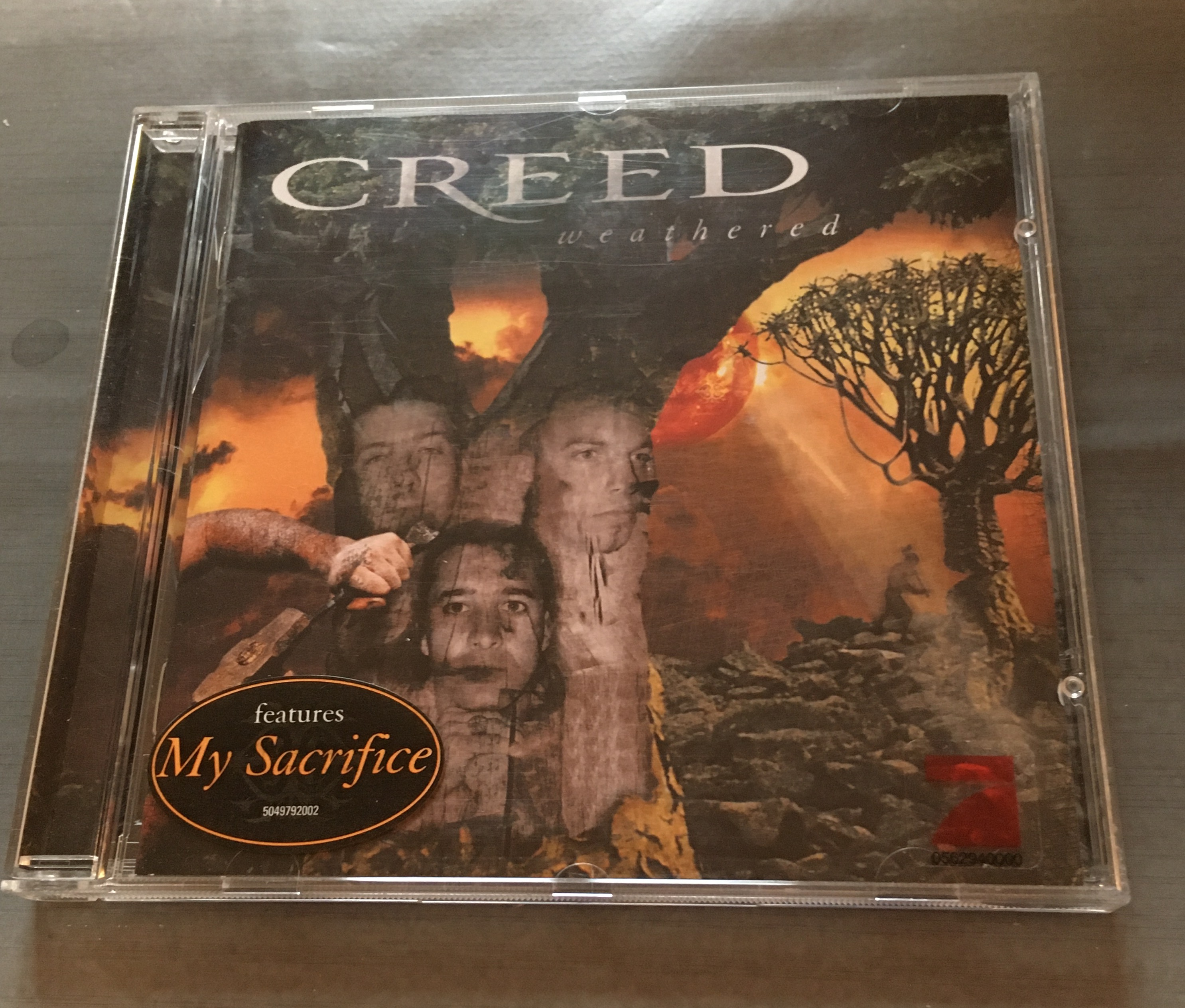 CD Creed - Weathered kostenlos