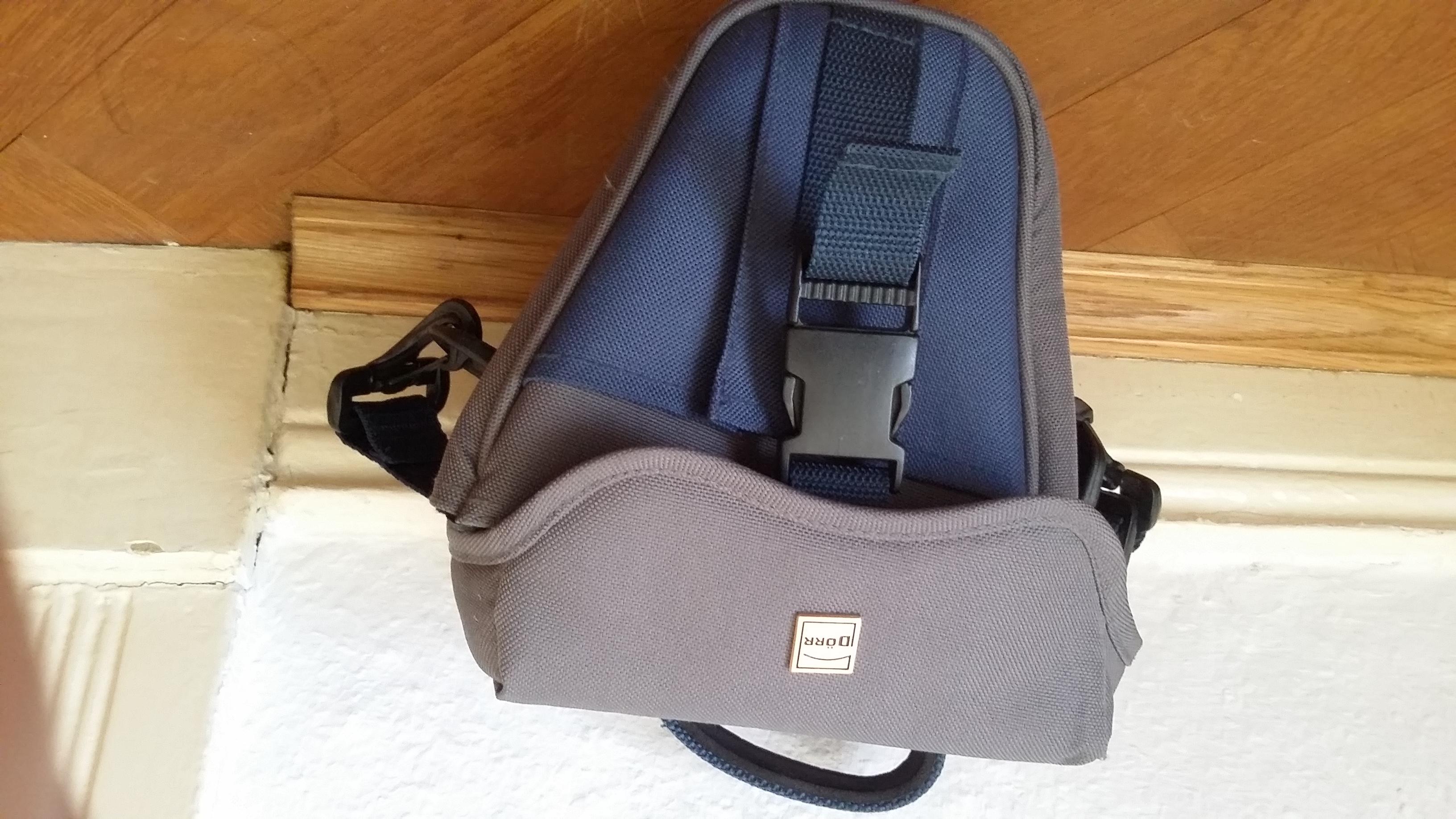 Fototasche für Spiegelreflexkame tauschen