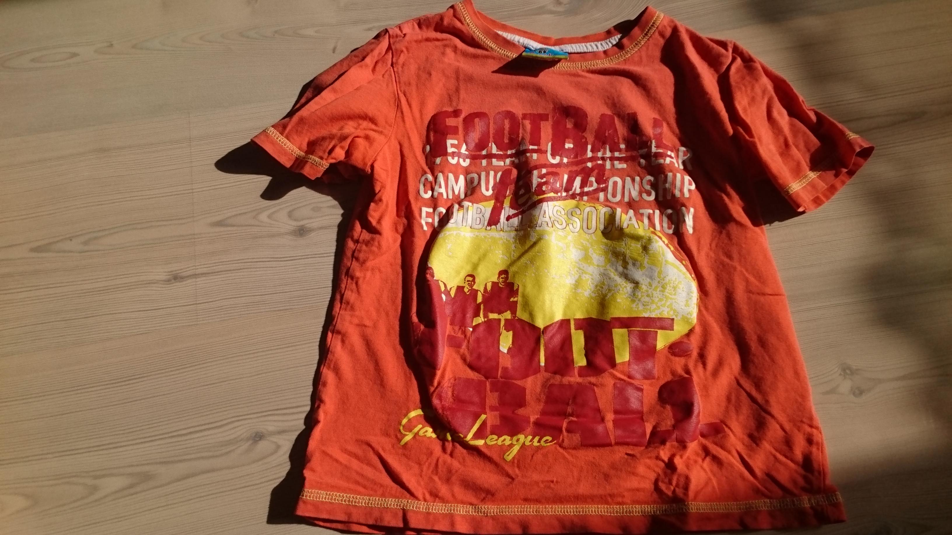 T-Shirt Größe 122 tauschen
