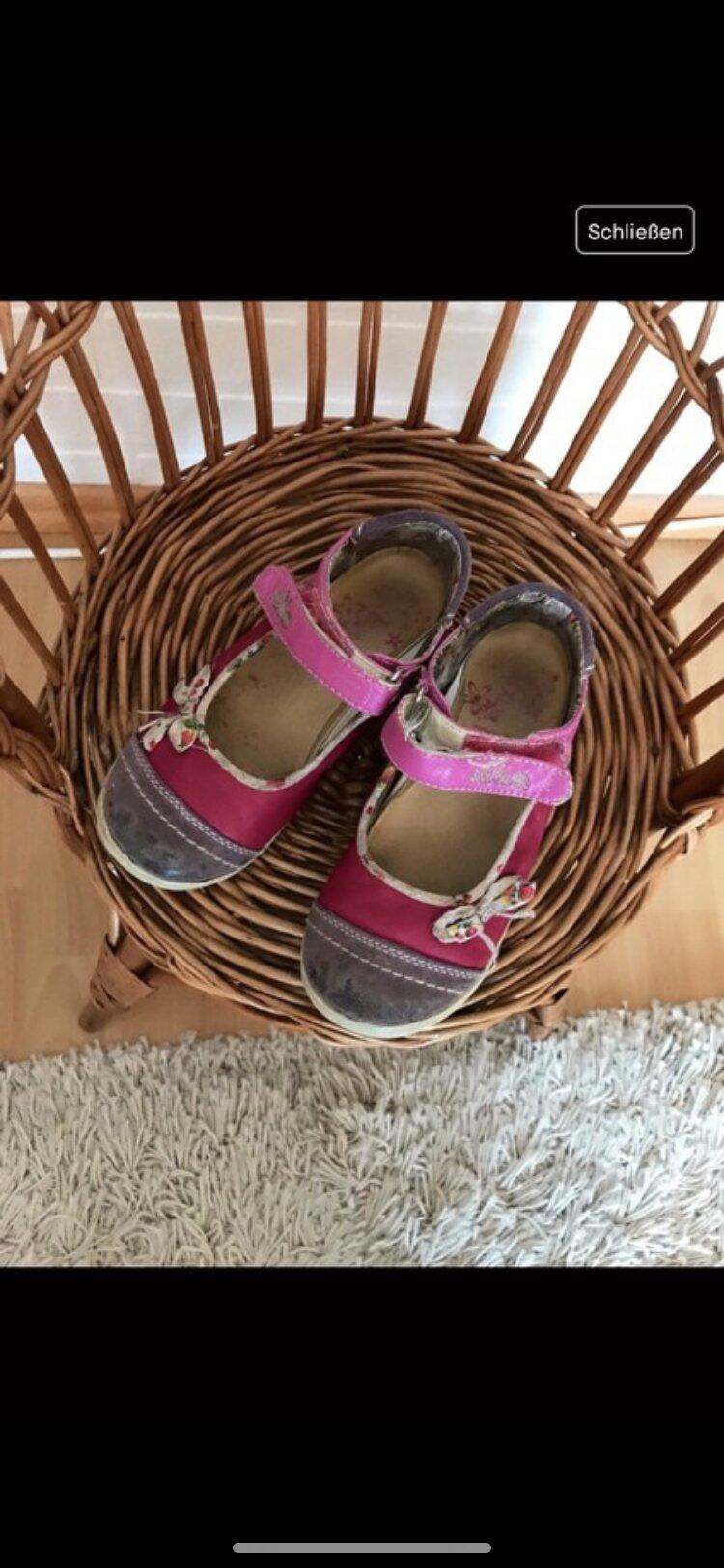 Sandalen mit Schleife  tauschen