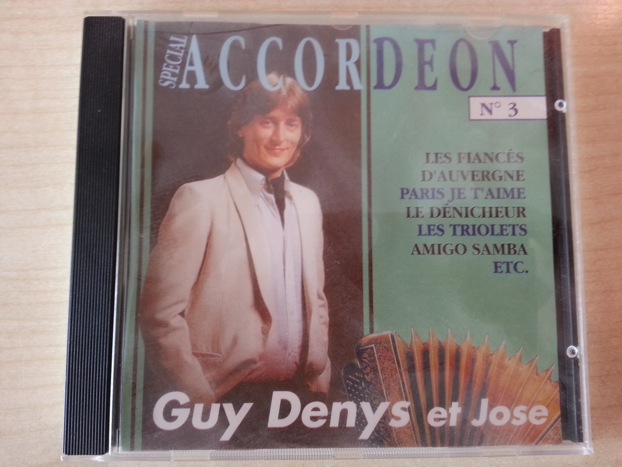 CD: Accordeon- Guy Denya et Jose kostenlos