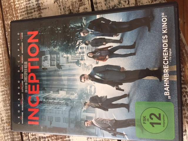 "DVD ""Inception"" tauschen"