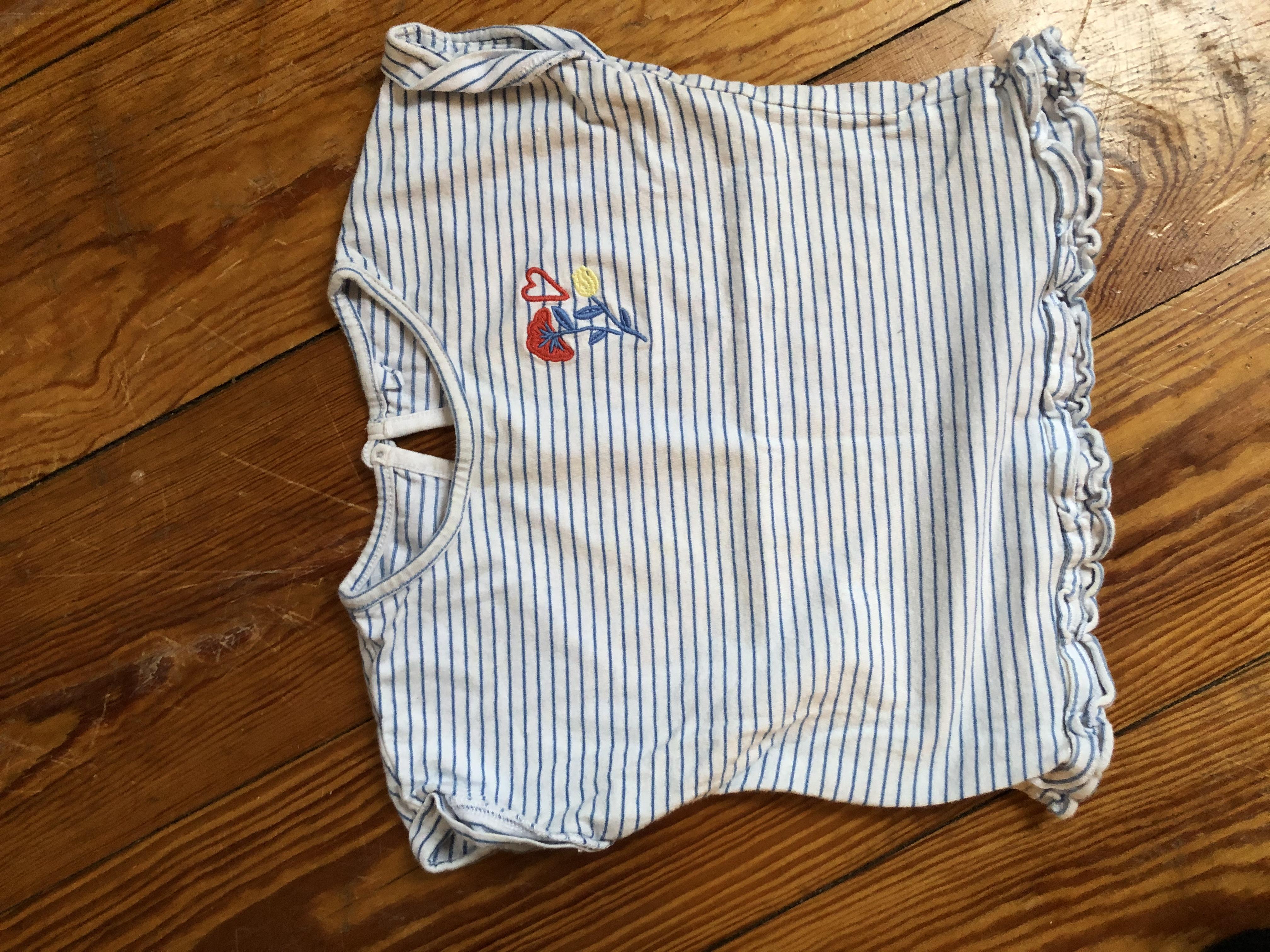 T Shirt blau gestreift 86 /92 tauschen
