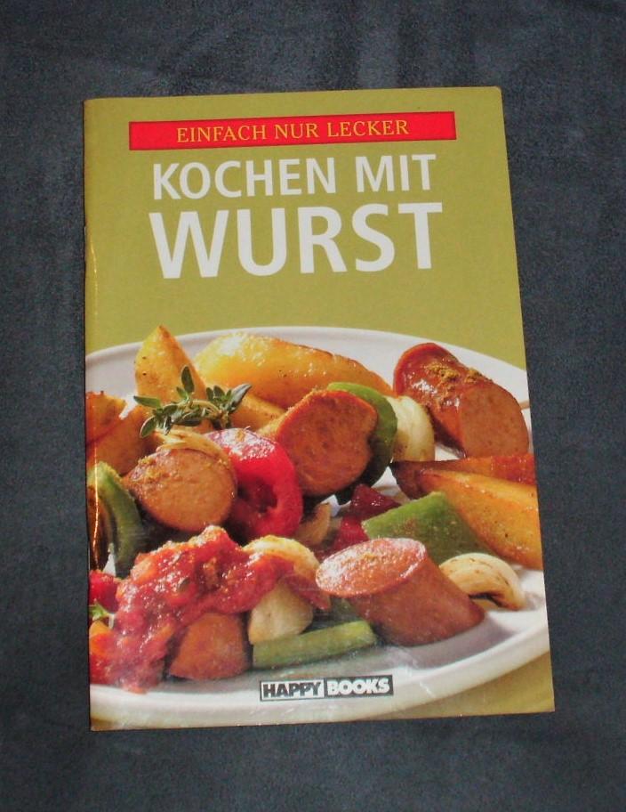 Kochheft Kochen mit Wurst tauschen