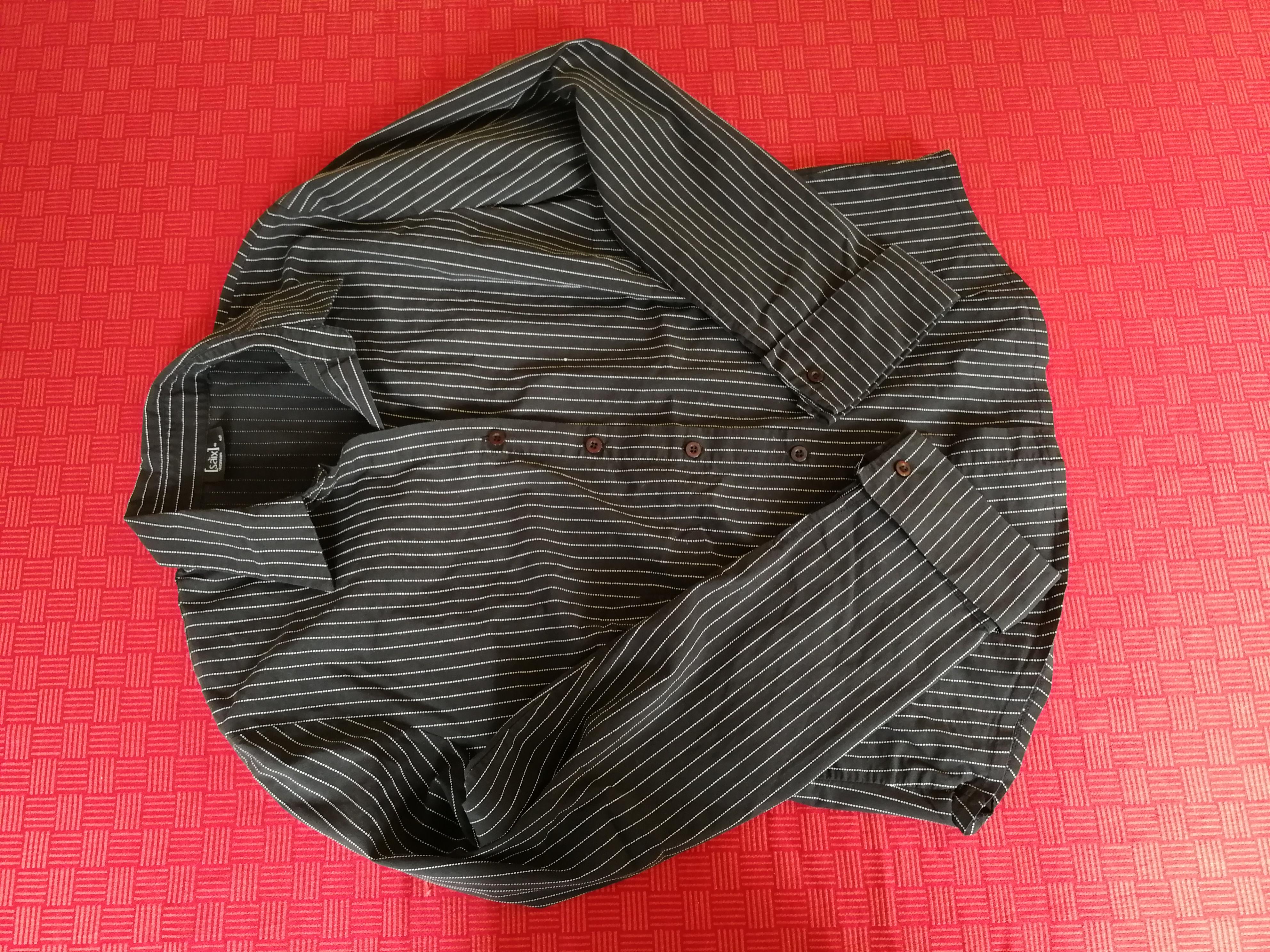 Schwarz weiß gestreifte Bluse 42 tauschen