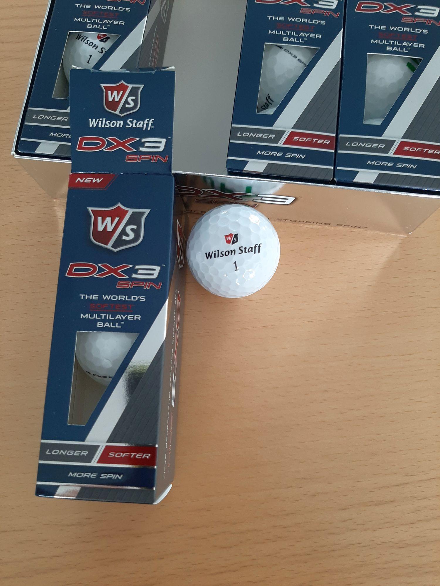 Golfbälle Wilson 12 Stück NEU tauschen
