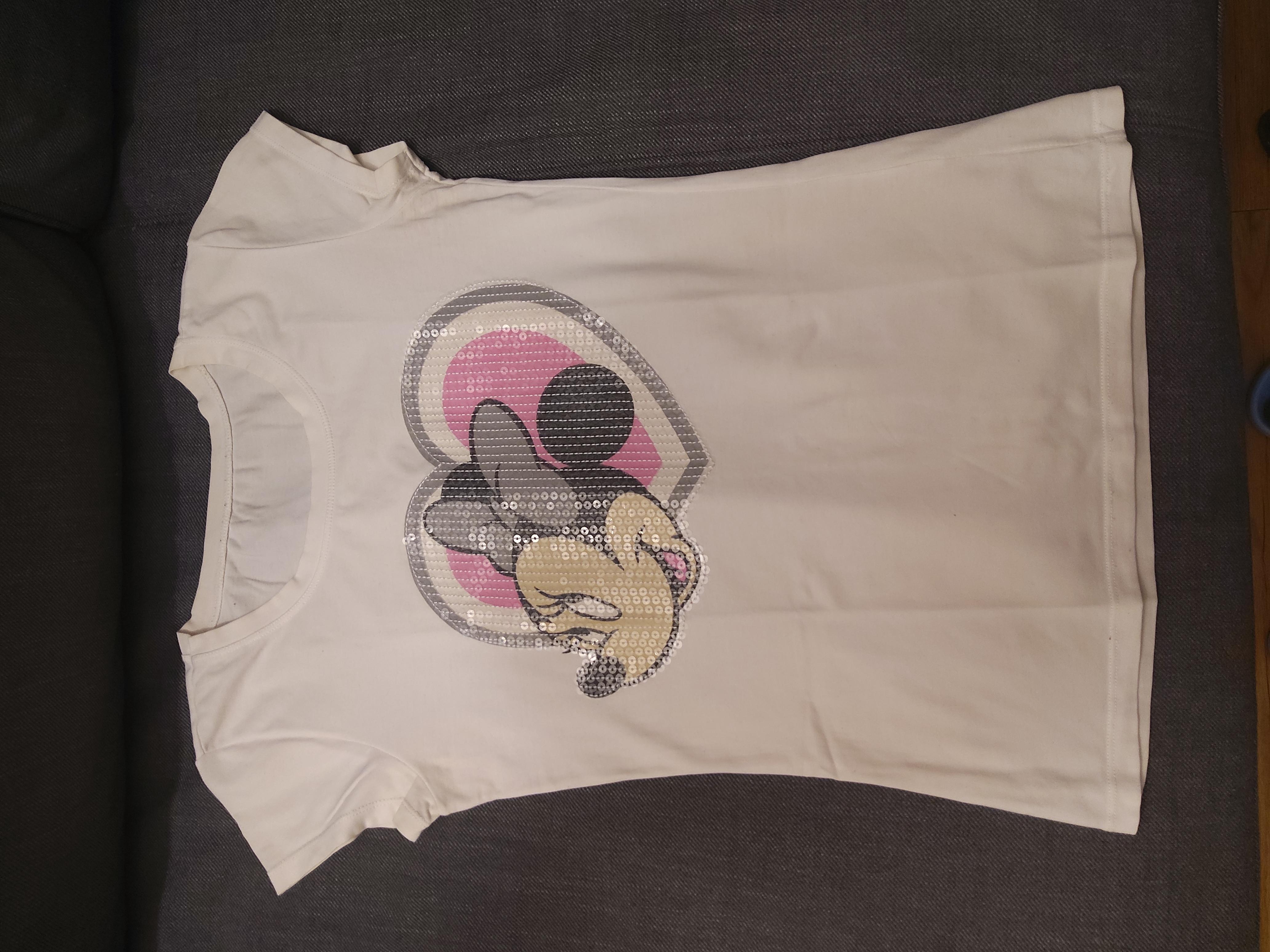 T-Shirt Größe S weiß  tauschen
