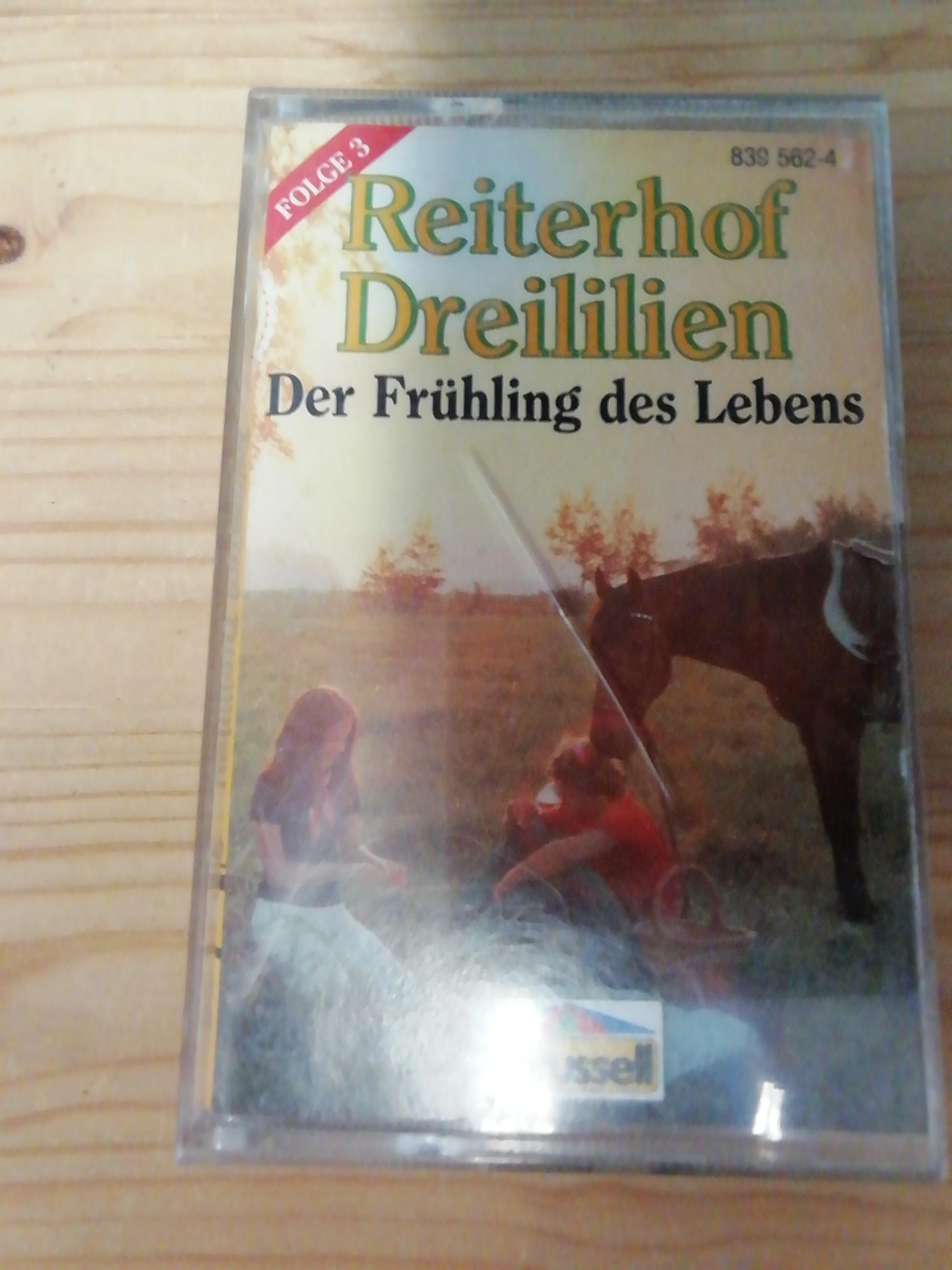 Kassette Reiterhof Dreililien  tauschen