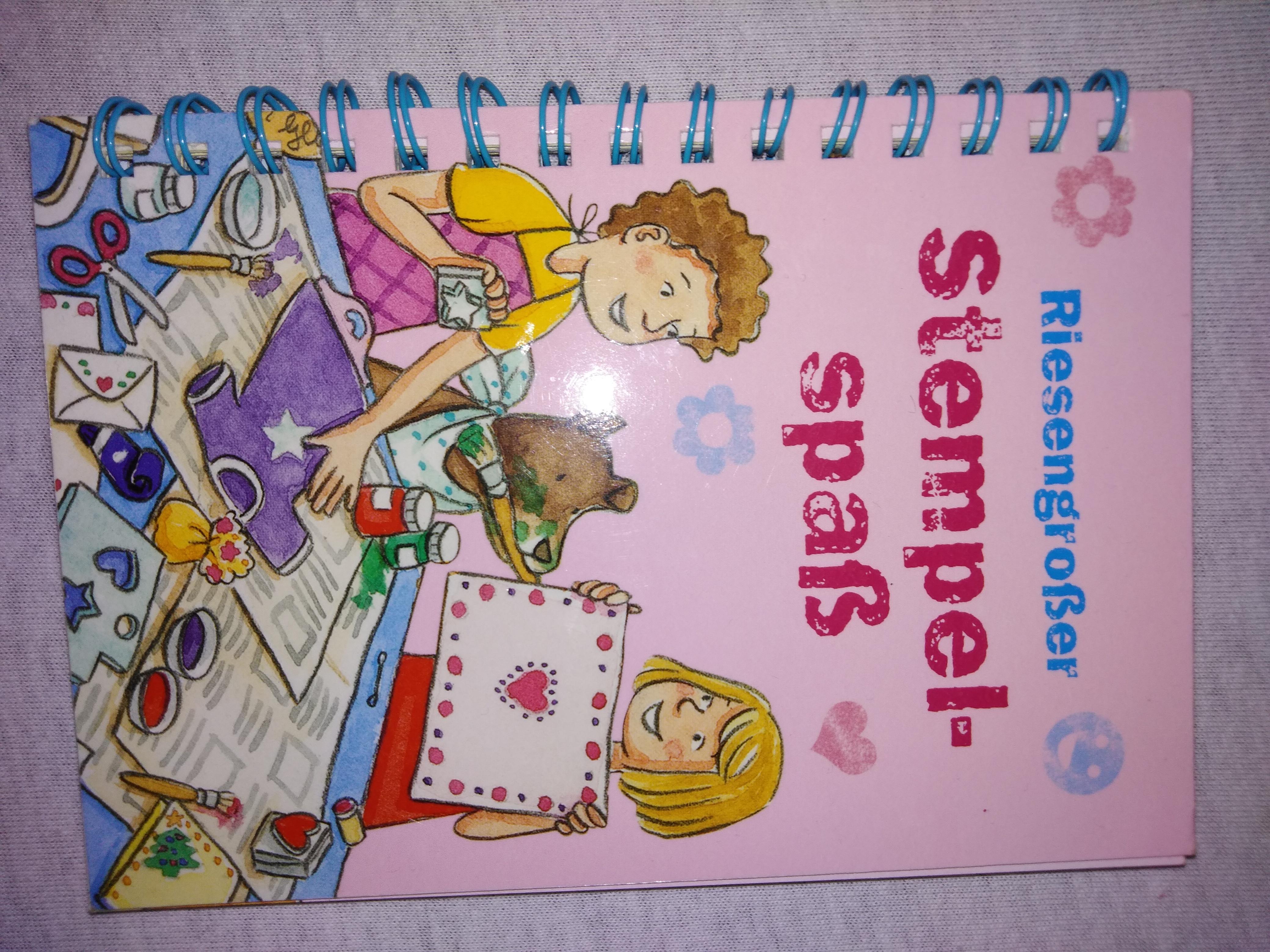 Bastelbuch Stempelspaß tauschen