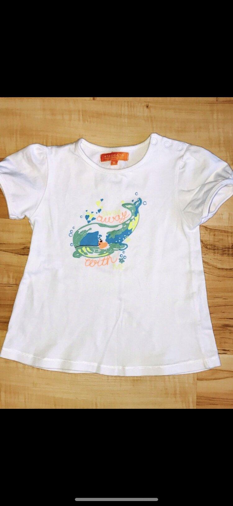 Shirt mit Glitzer Wal drauf tauschen