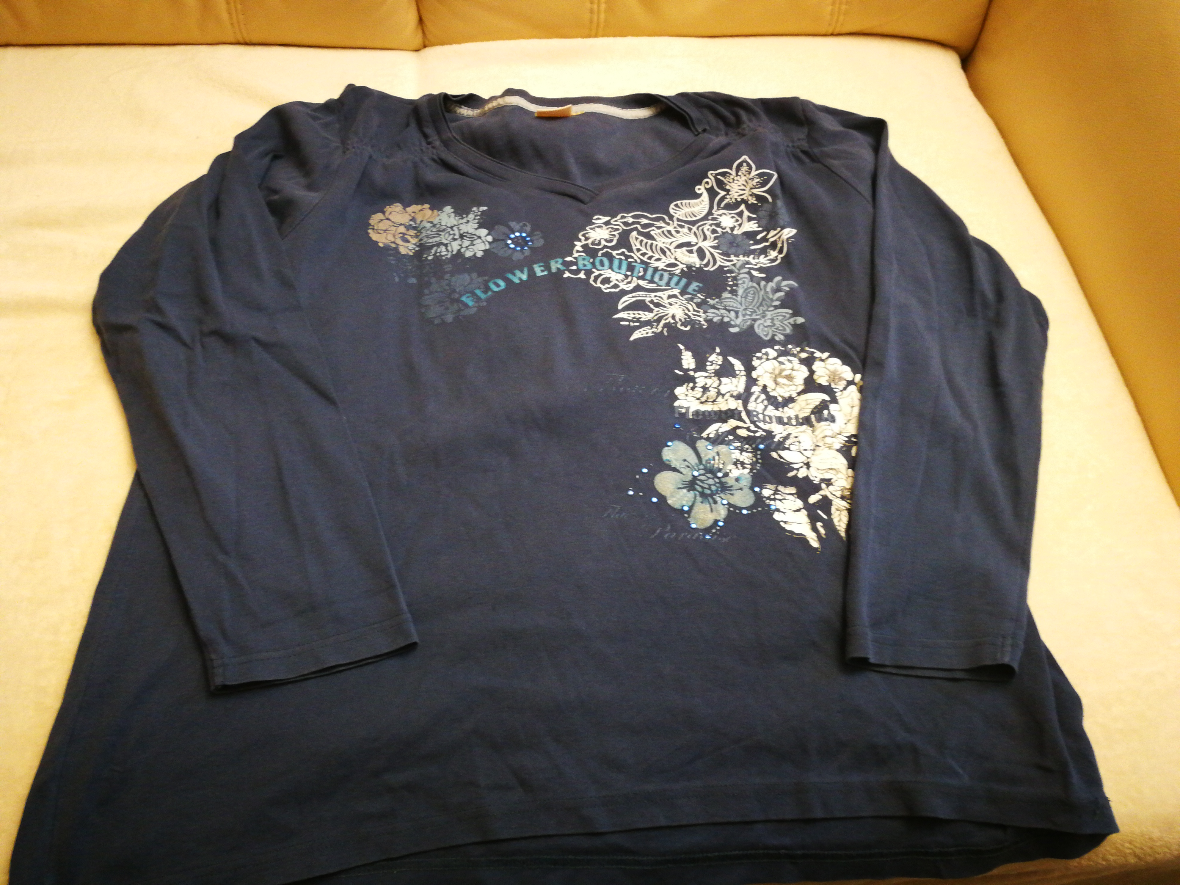 Shirt blau Gr. XL tauschen
