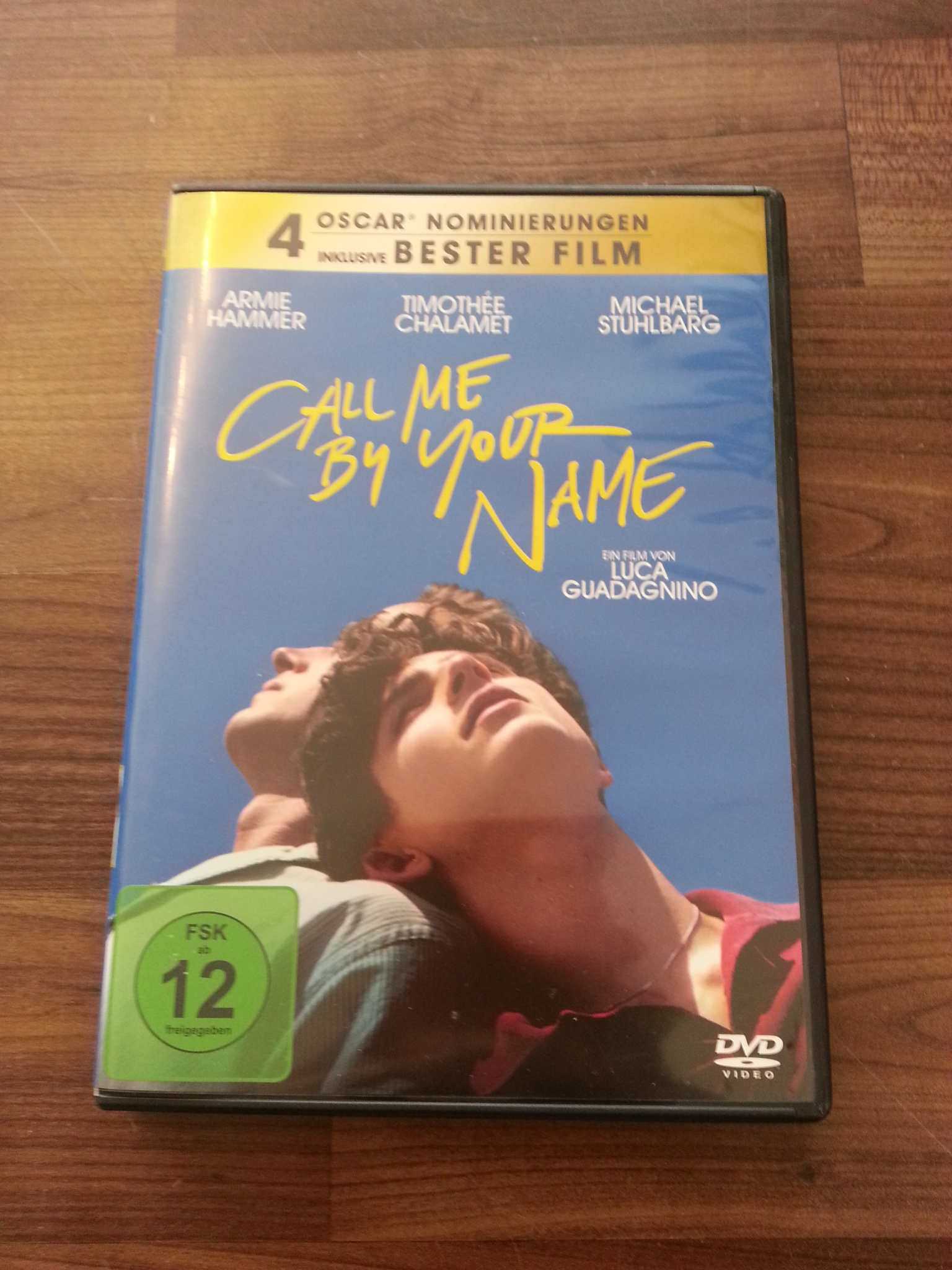 DVD Call me by your Name kostenlos