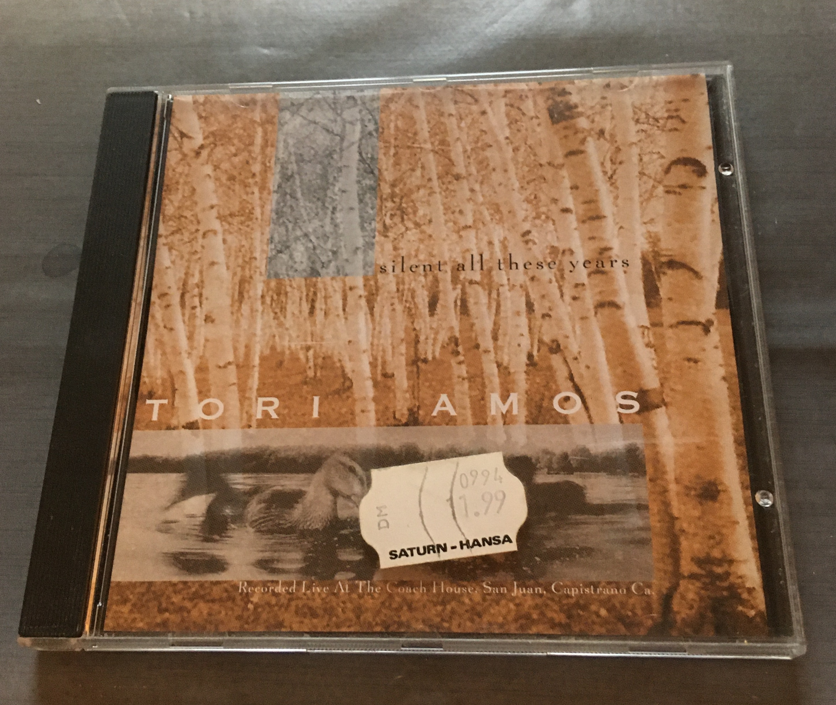 CD Tori Amos - Silent All These Years kostenlos