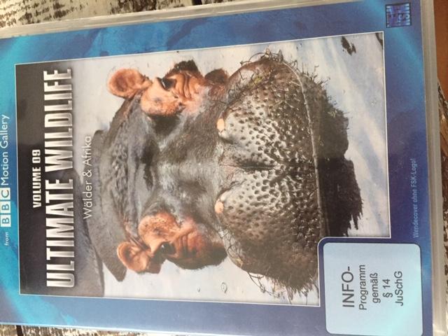 """DVD """"Ultimate Wildlife"""" Vol 9 tauschen"""