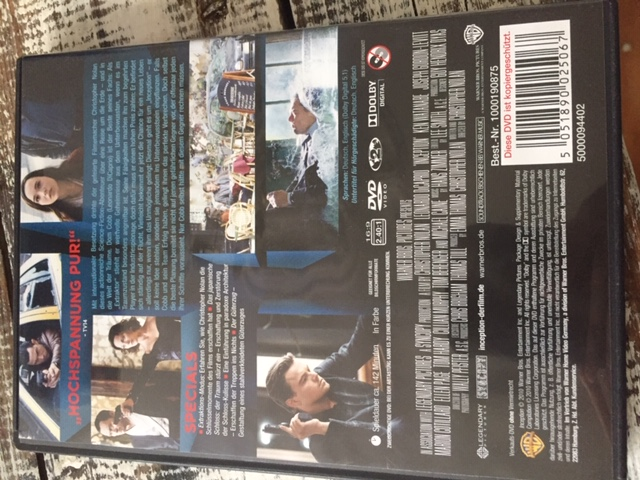 "DVD ""Inception"" kostenlos"