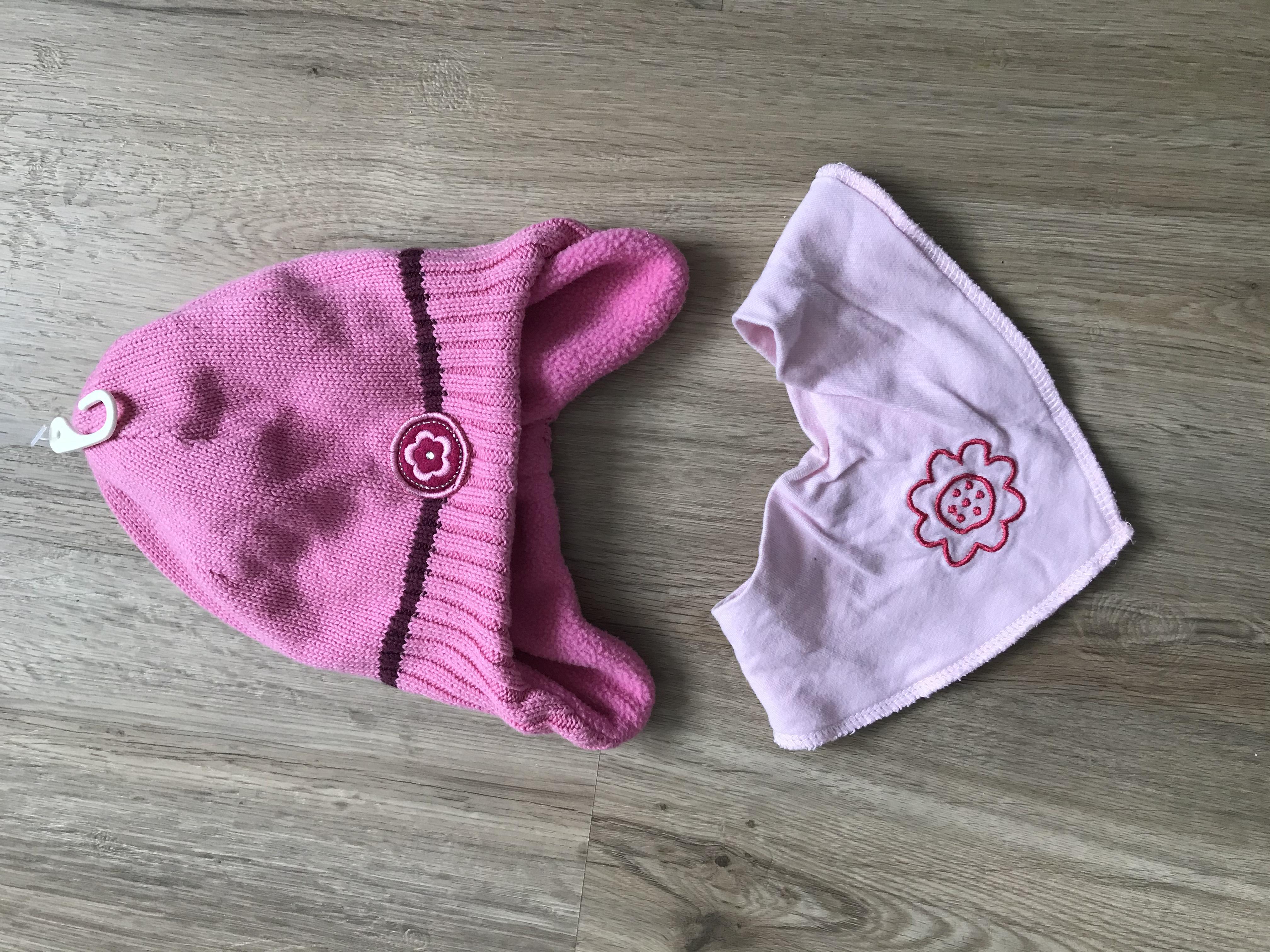 NEU Pink Mütze und Schal  tauschen