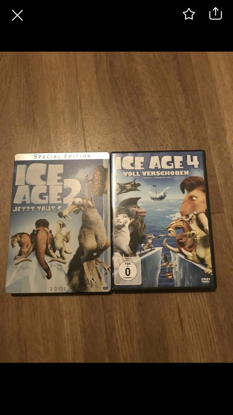 DVD ice age 2 und 4 tauschen