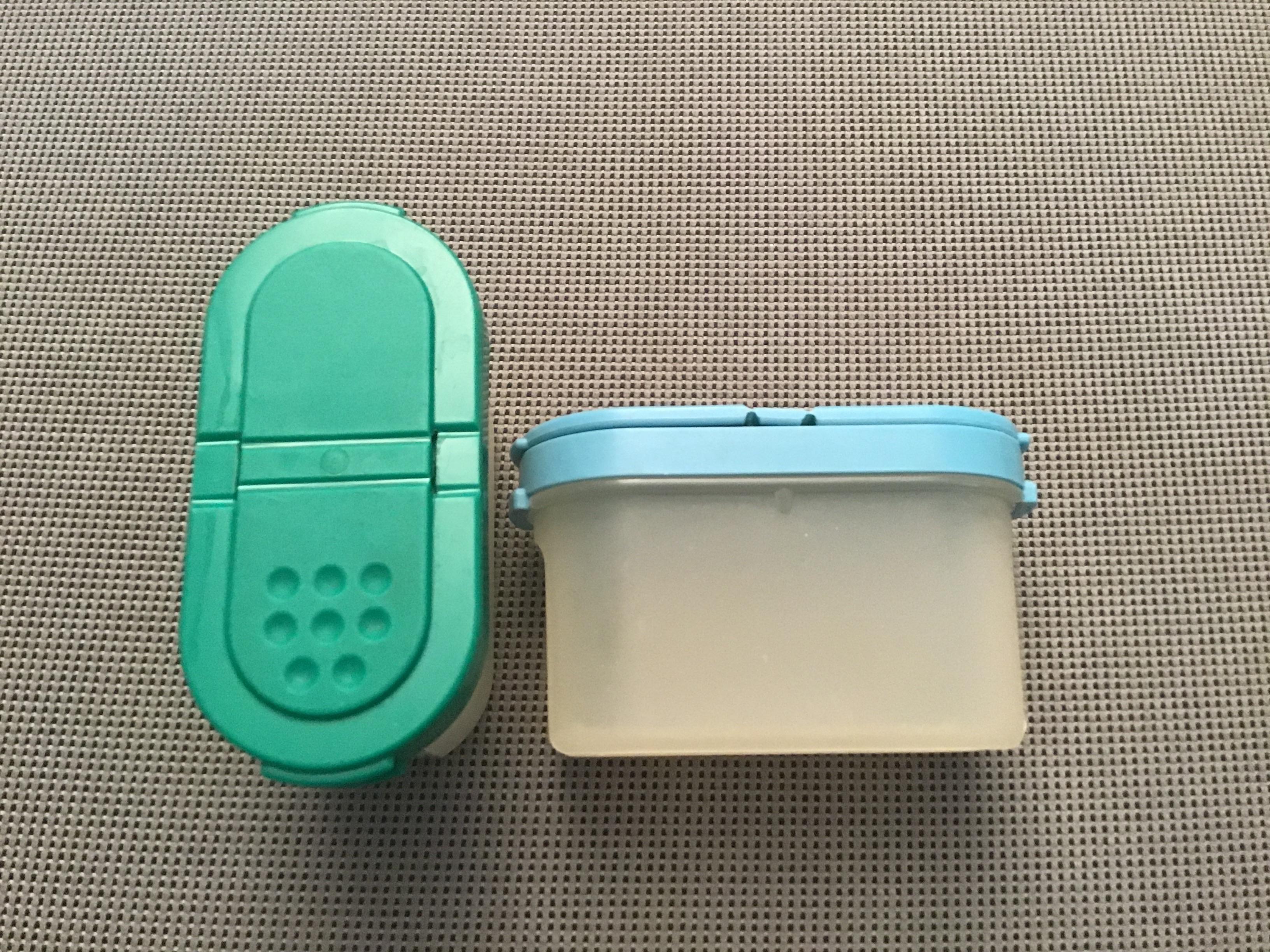 2 kleine Tupperware Behälter  tauschen