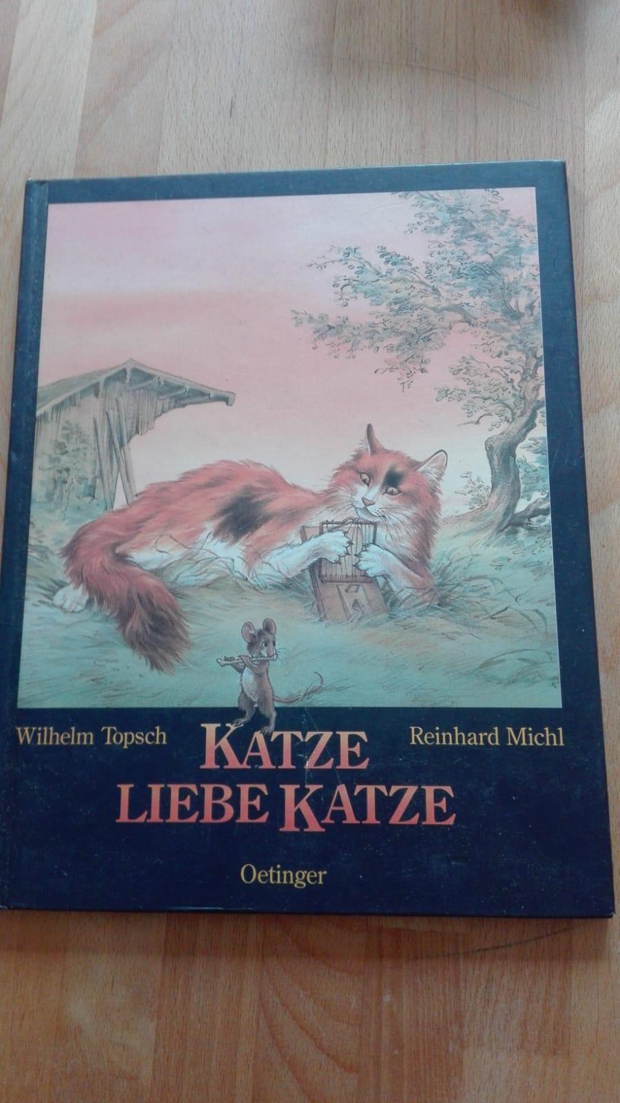 Katze, liebe Katze - Lesebuch tauschen