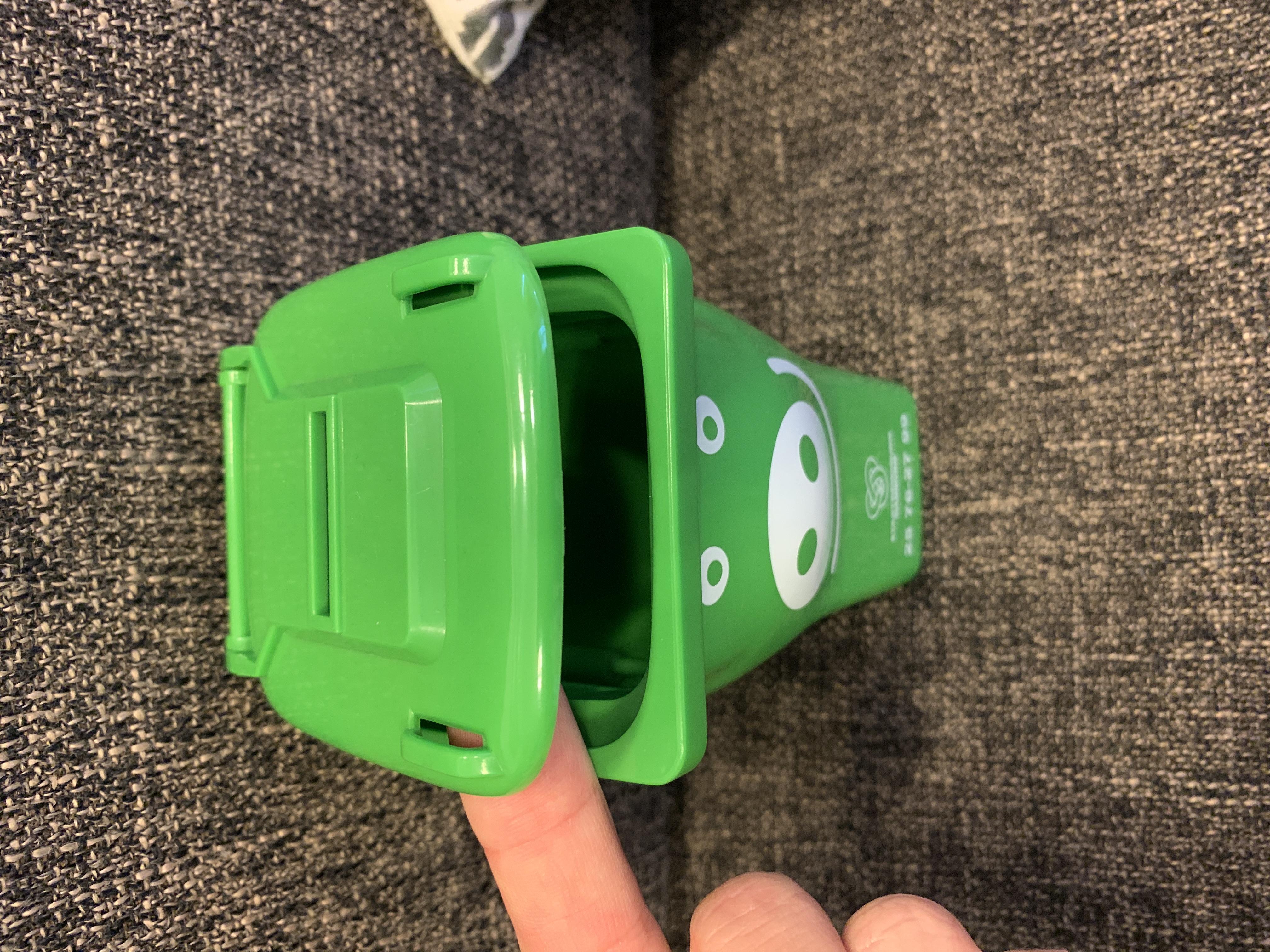Spar-Mülltonne tauschen
