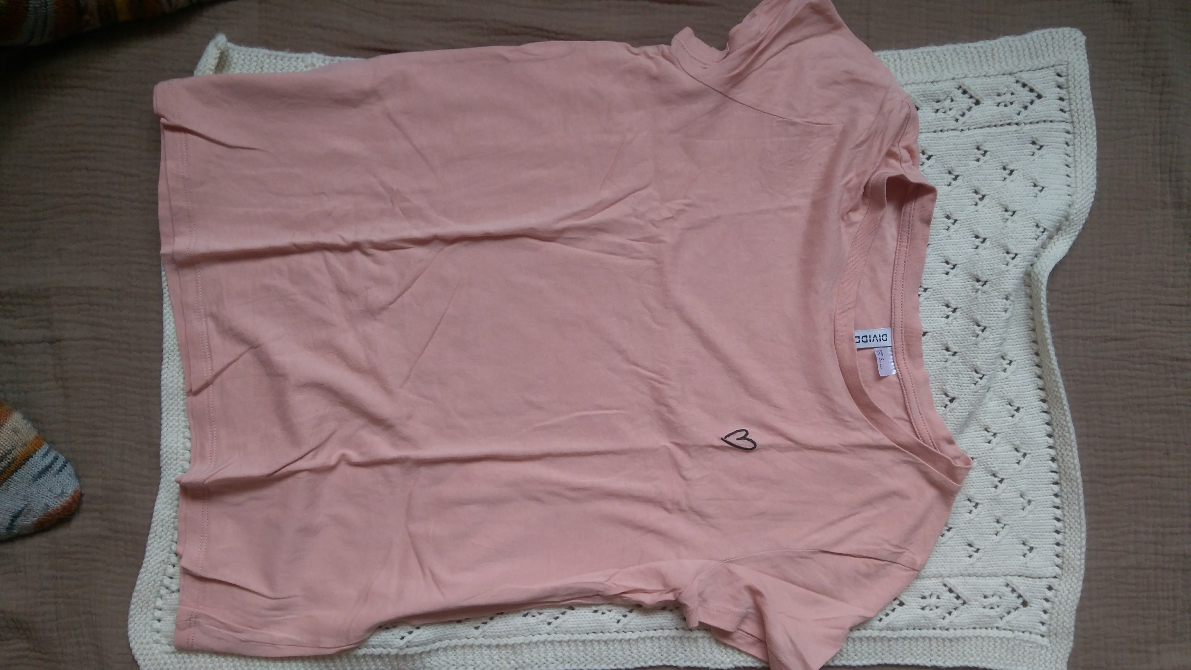 T-Shirt H&M S rosa Herz tauschen