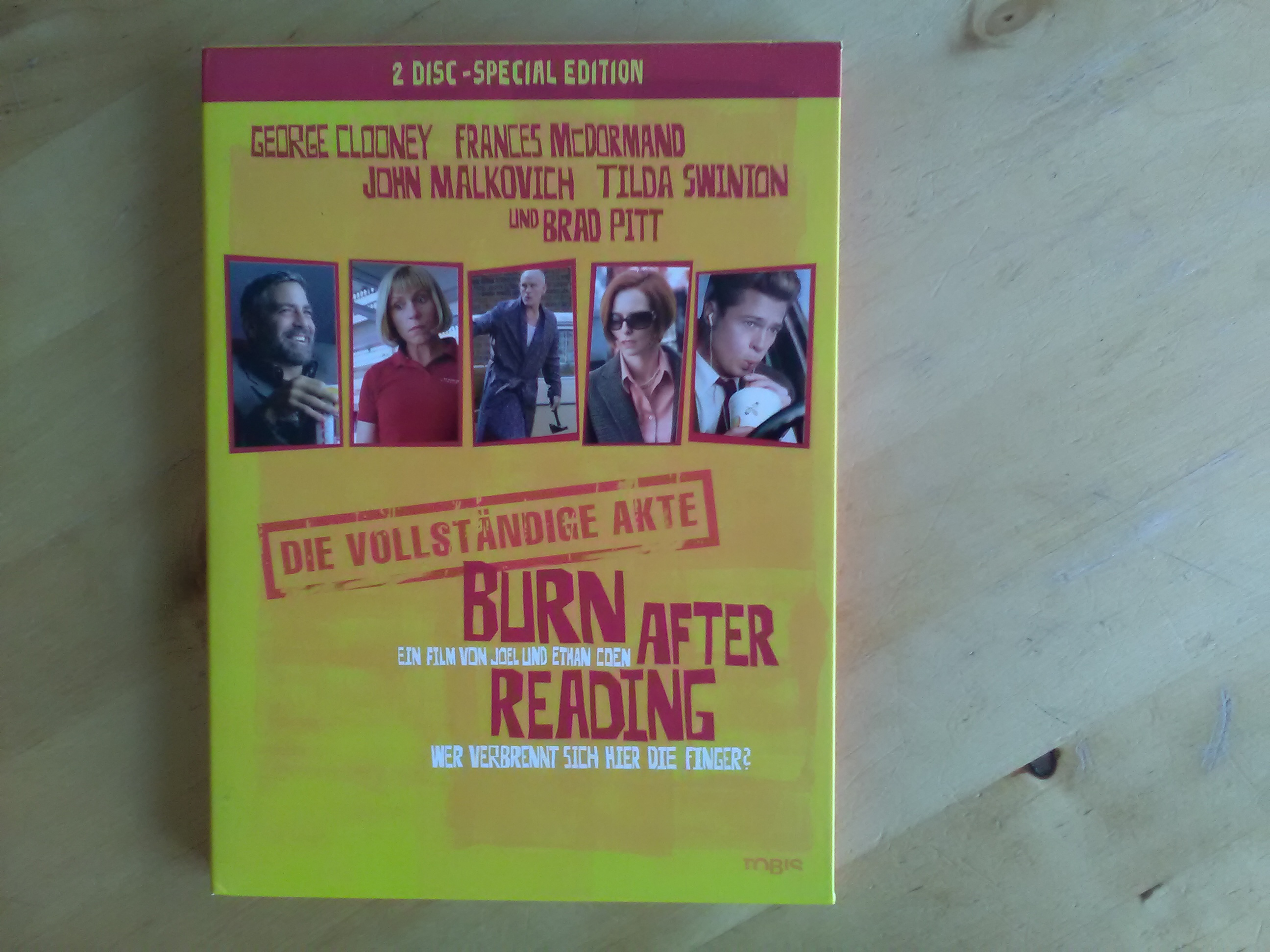 DVD - Burn After Reading kostenlos