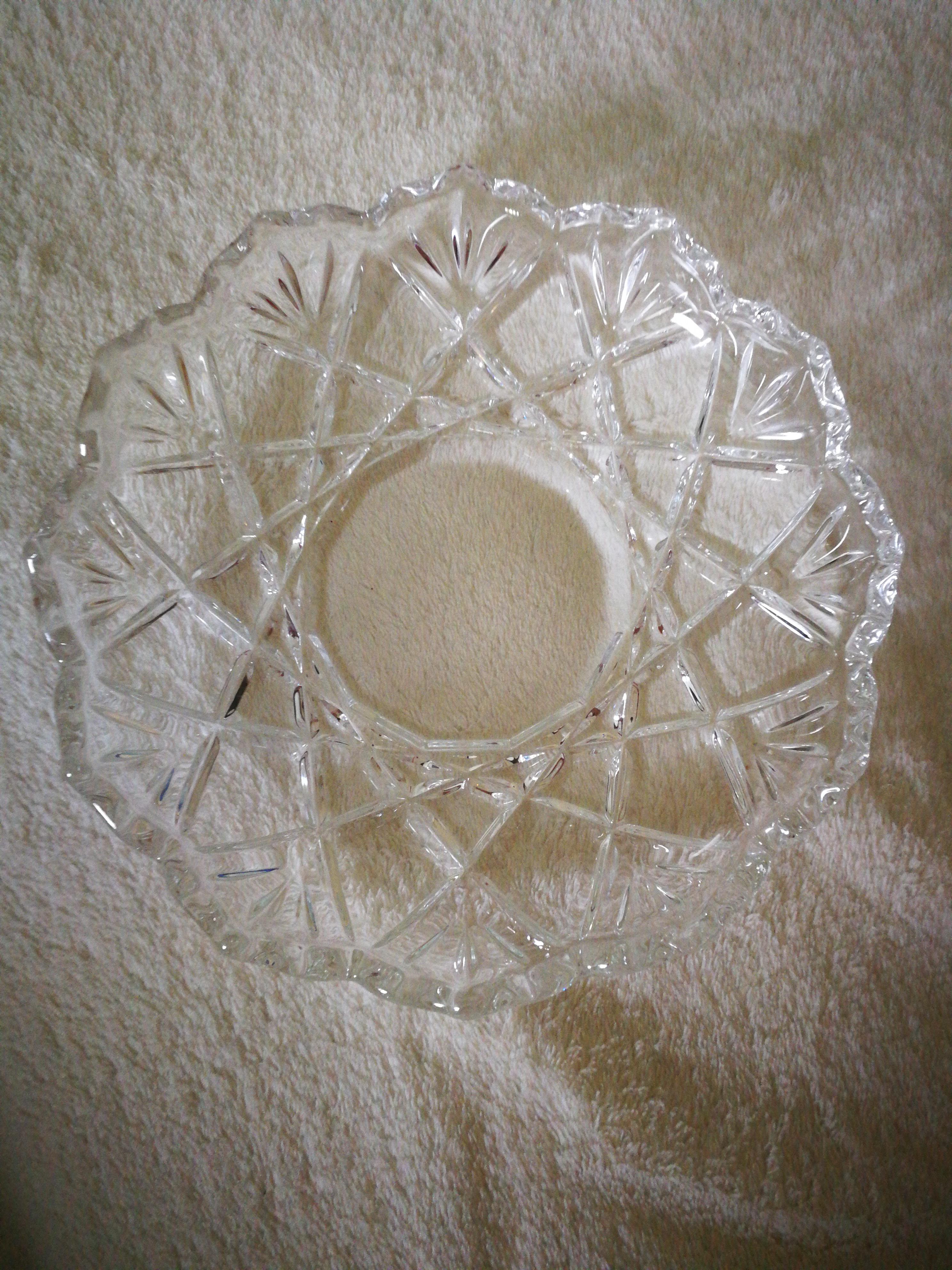 Glasteller tauschen
