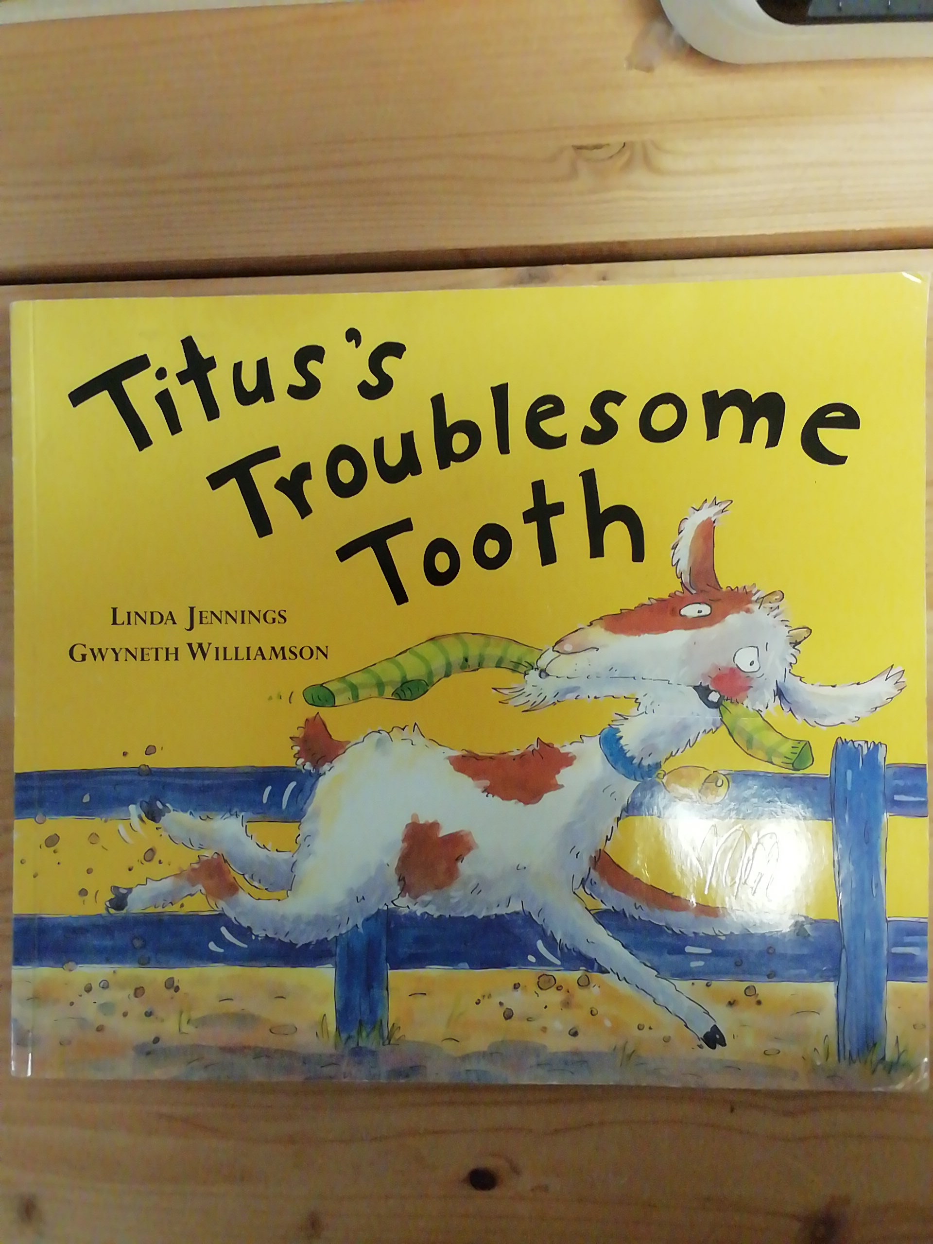 Titus troublesome tooth tauschen