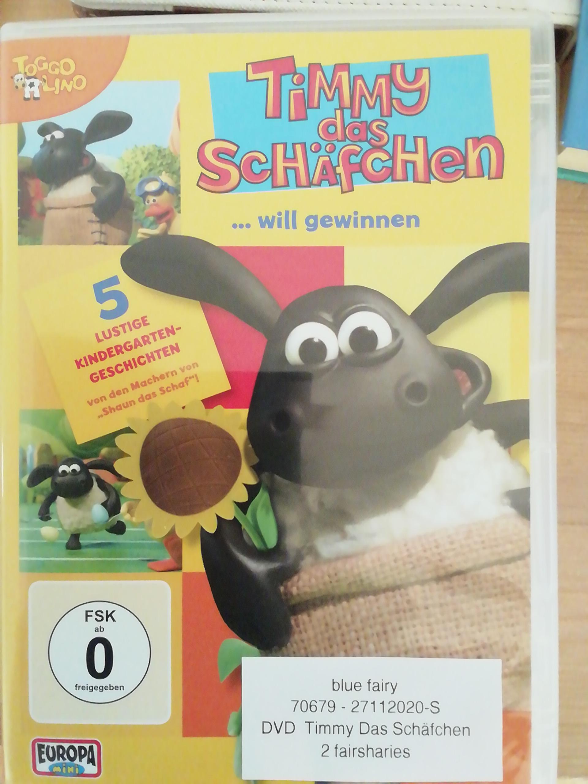 DVD  Timmy Das Schäfchen tauschen
