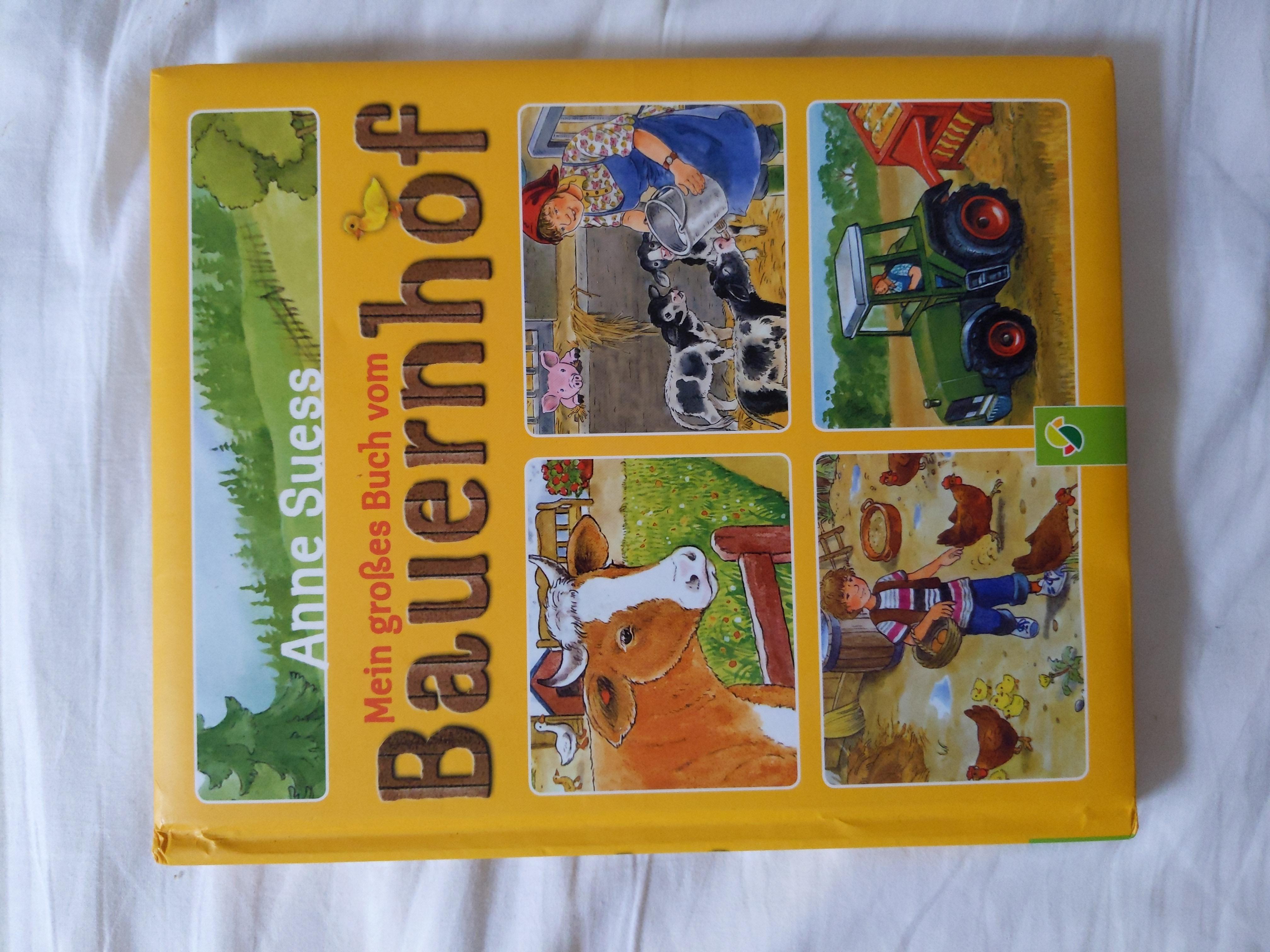 Großes Bauernhofbuch tauschen