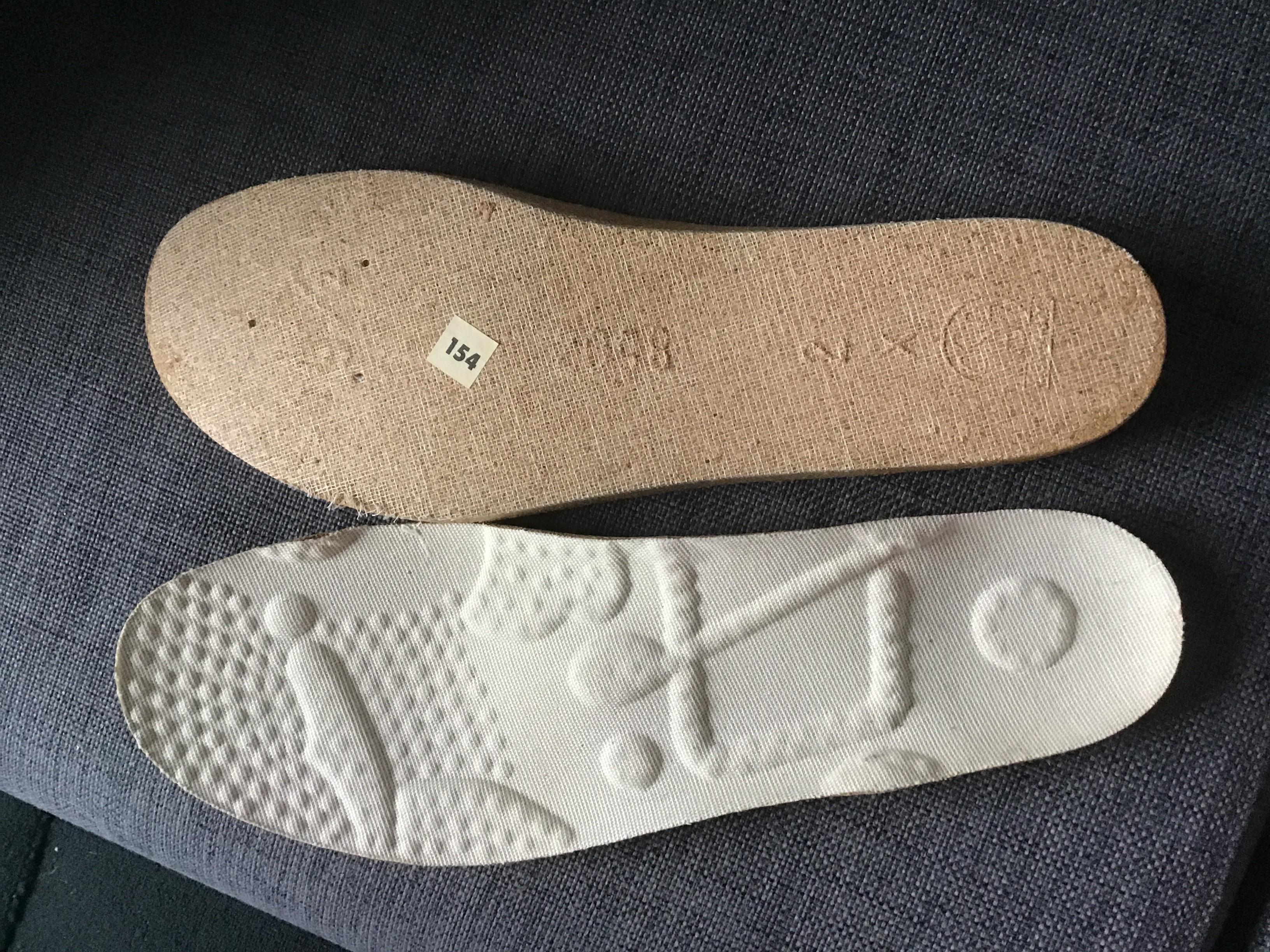Schuheinlagen Größe 42 tauschen