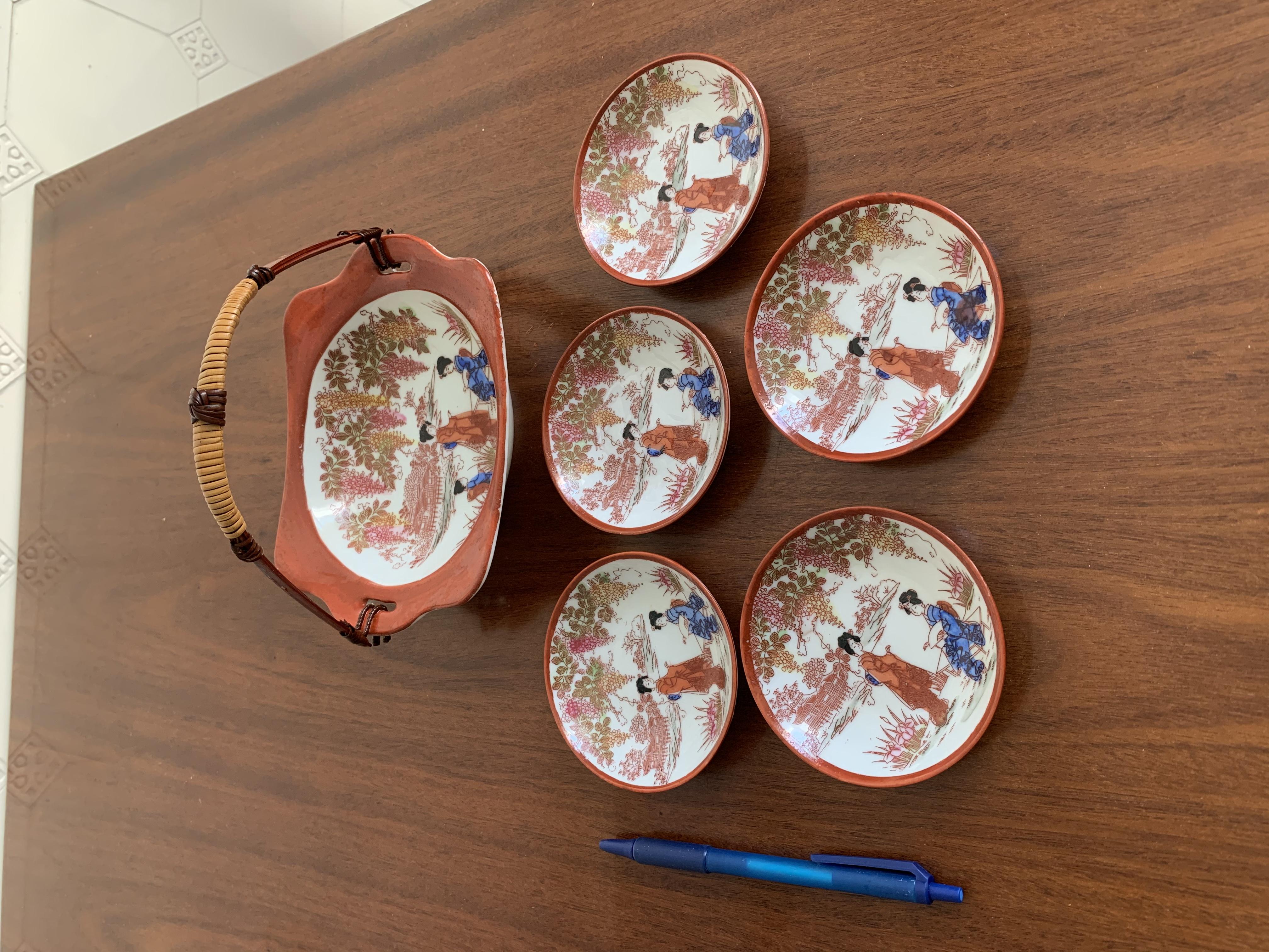Porzellan Japan Motiv tauschen