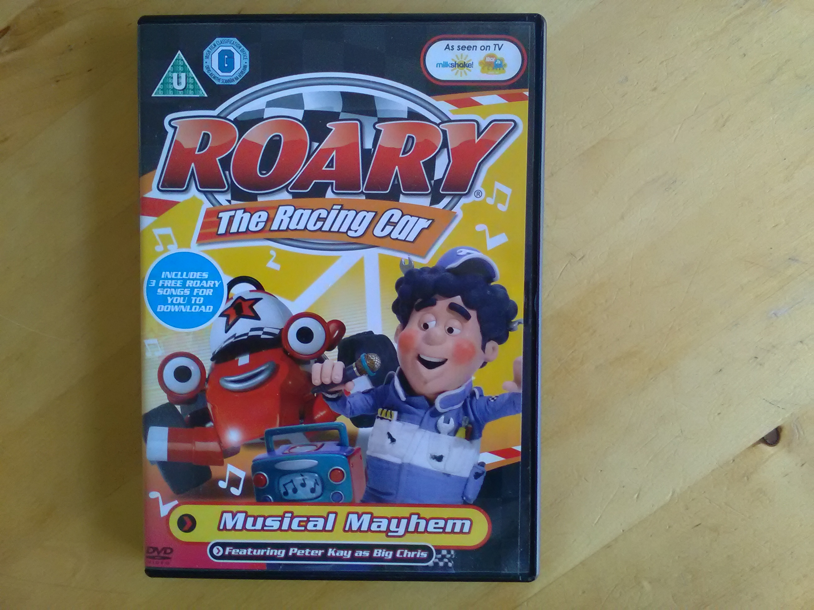 DVD - Roary The Racing Car kostenlos