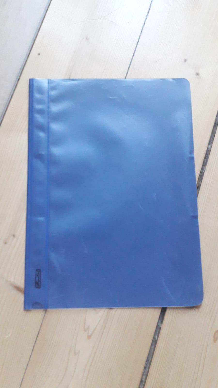 A4 Schnellhefter blau tauschen
