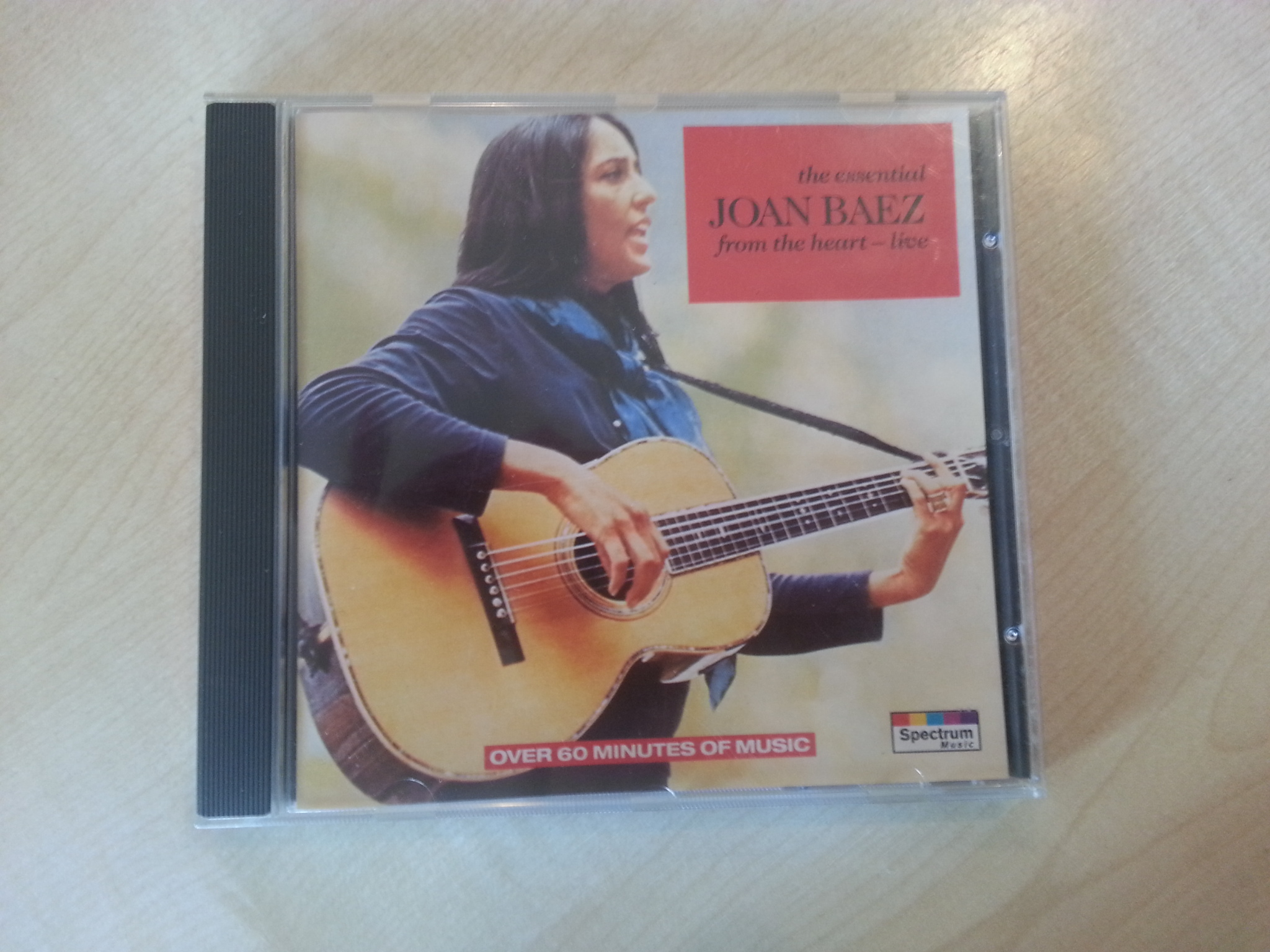 "CD - Joan Baez - ""the essential from the heart"" kostenlos"