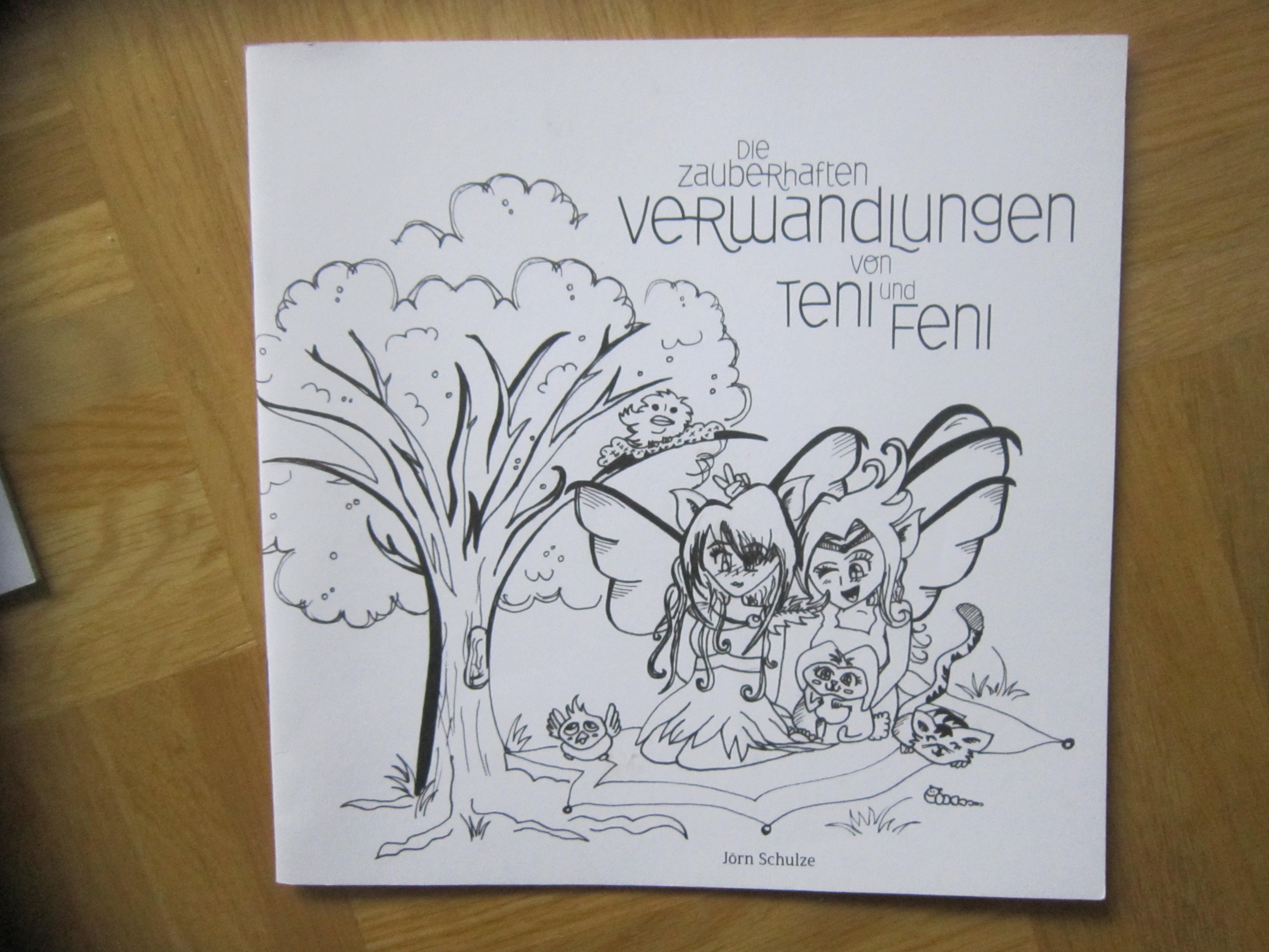 Heft Teni und Feni z.ausmalen tauschen