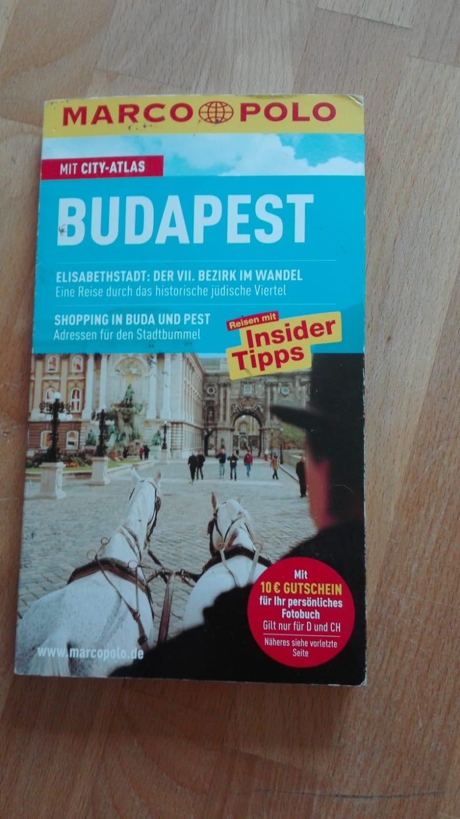 Reiseführer Budapest tauschen