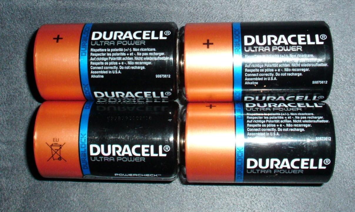 Batterien Set Duracell Ultra  tauschen