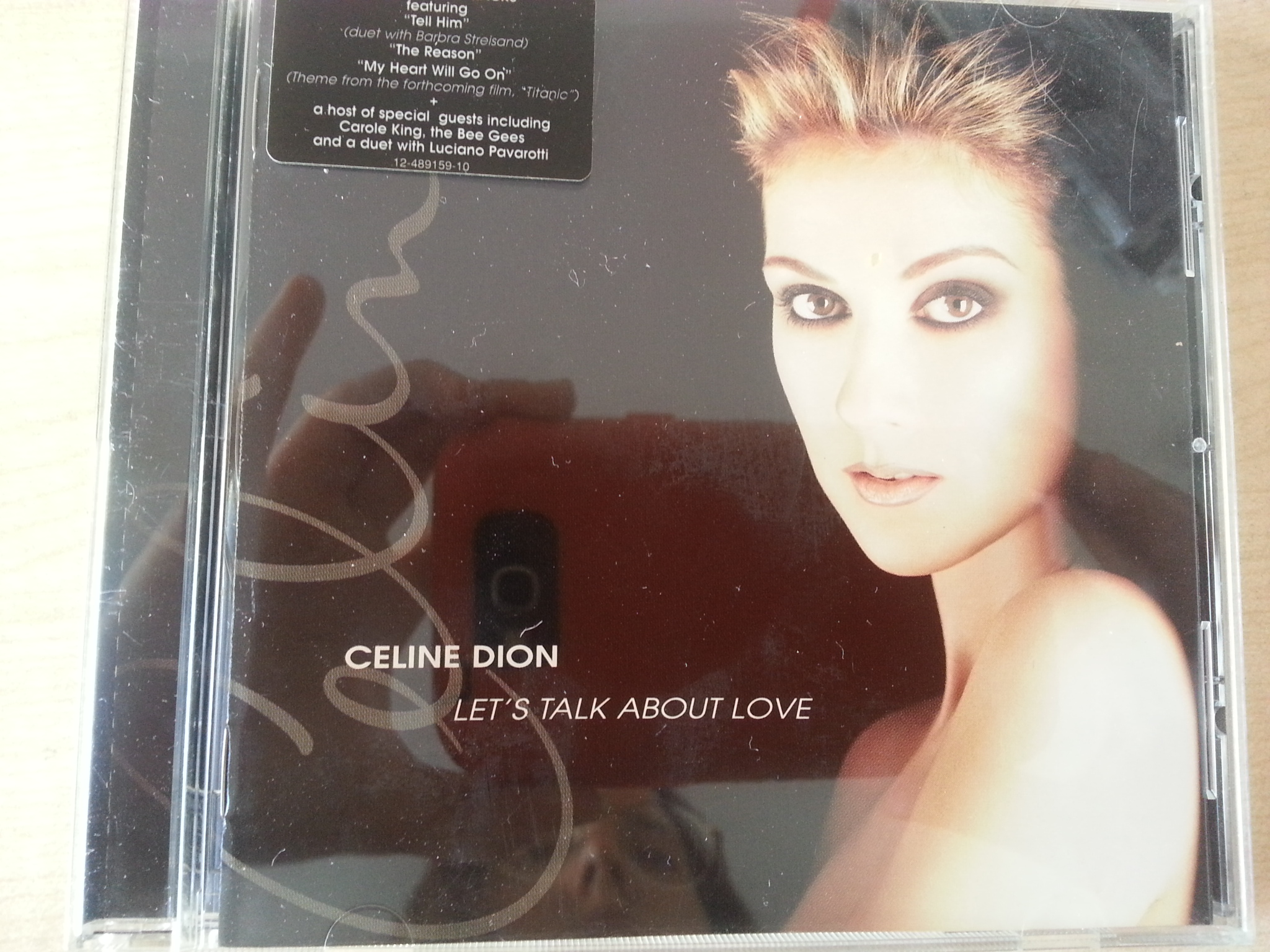 CD: Celine Dion - Lets talk about love  kostenlos