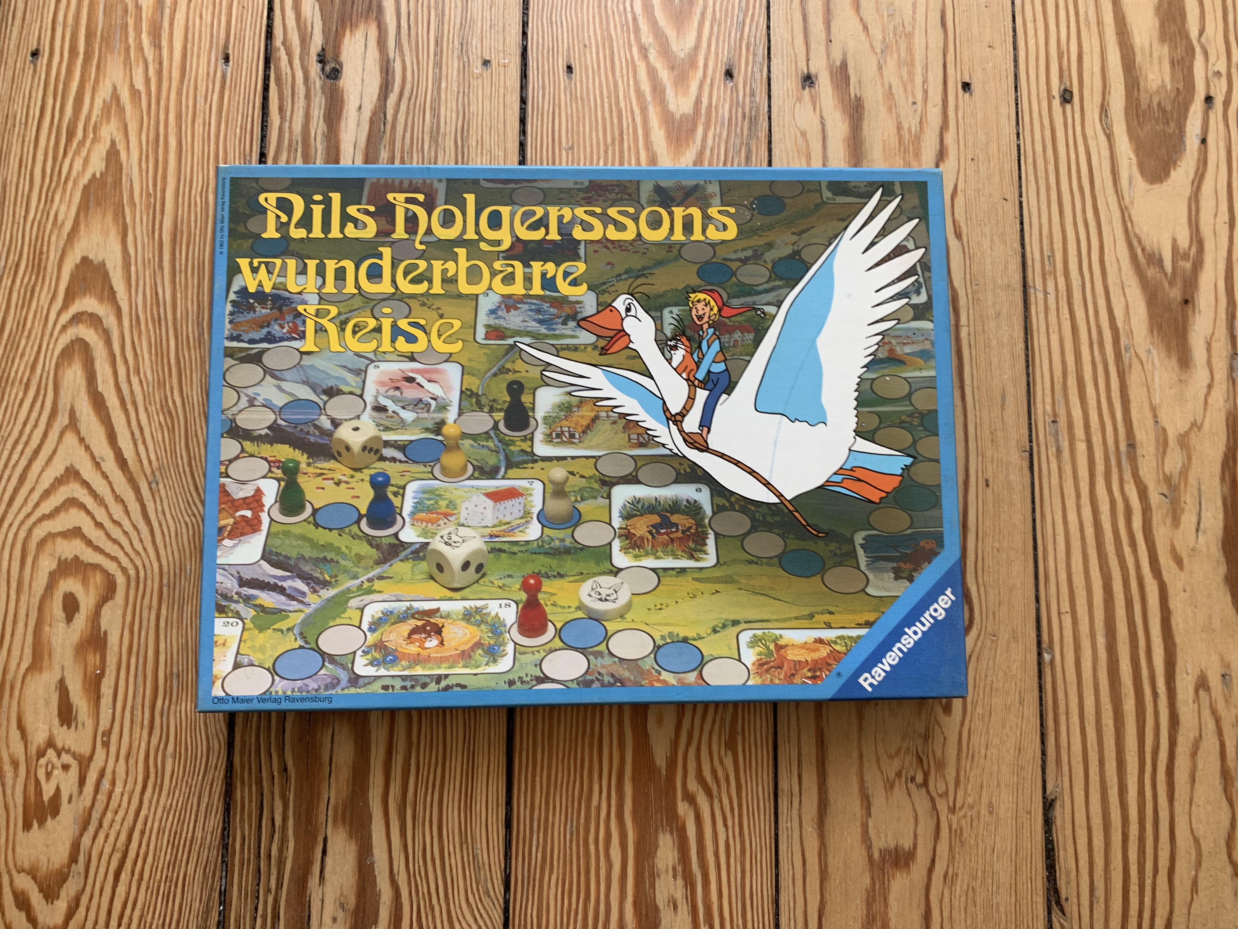 Spiel Nils Holgersson tauschen