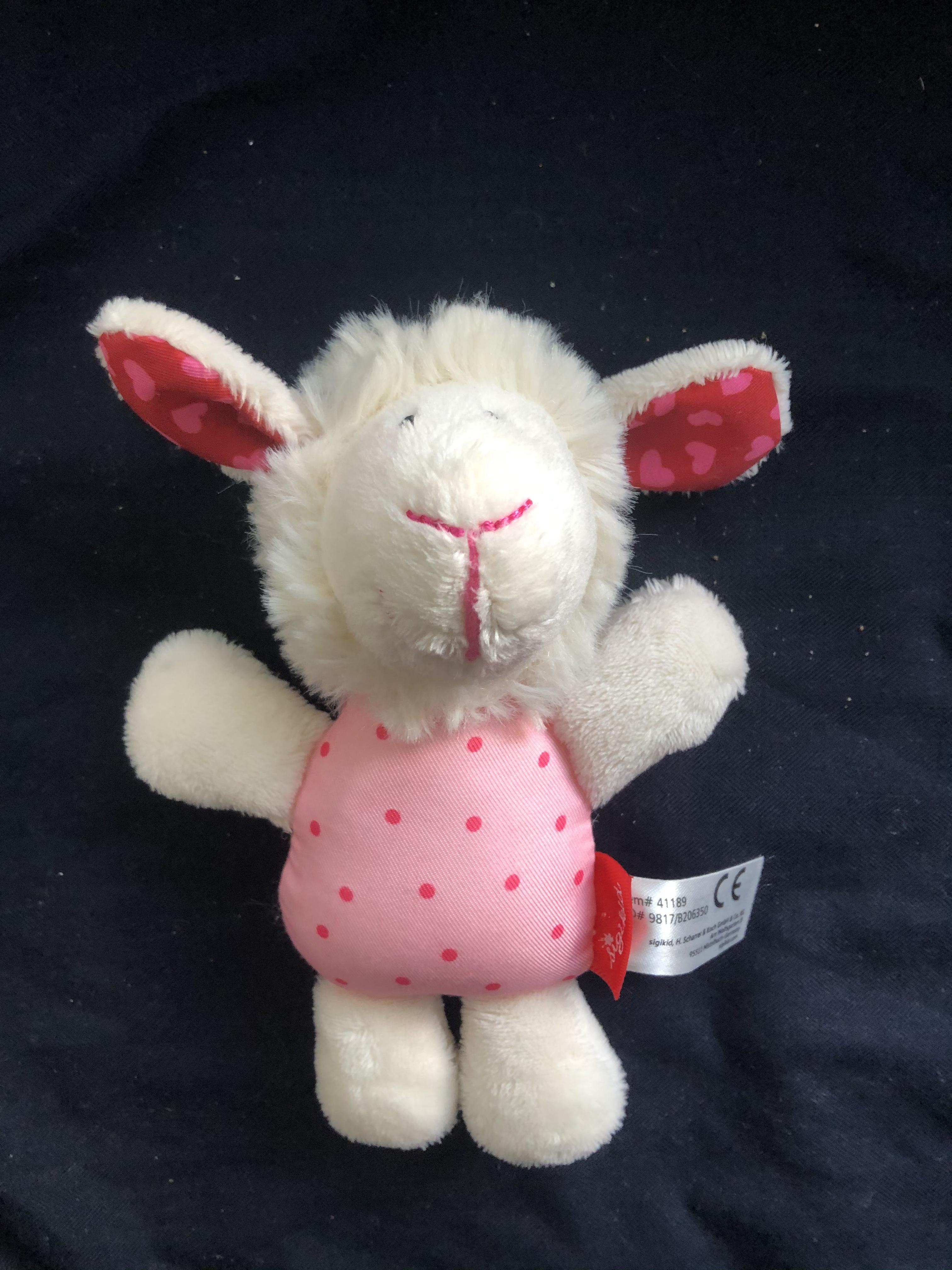 Babyrassel Schaf Sigikid neu tauschen
