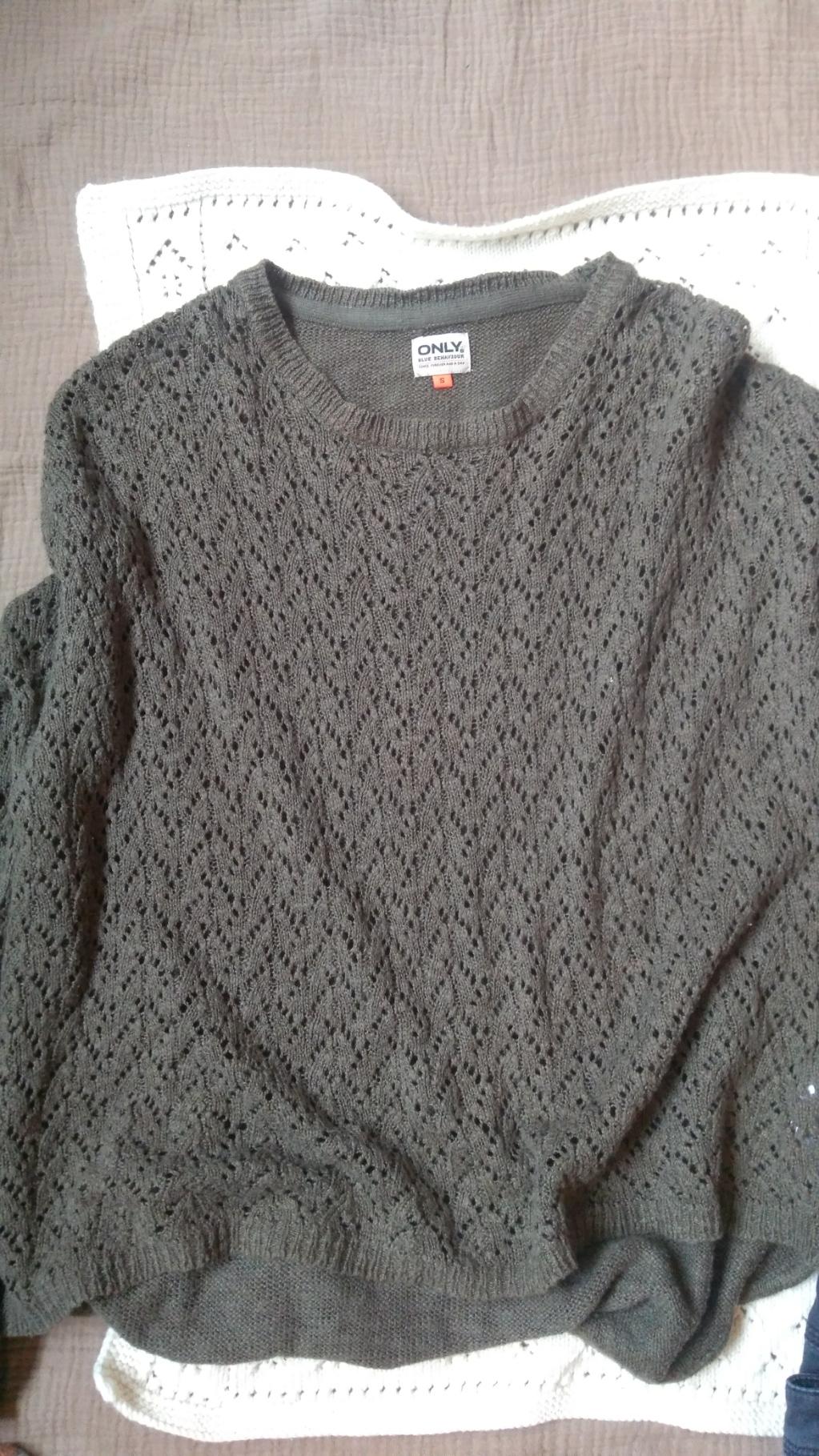 Only Pullover Strickmuster tauschen
