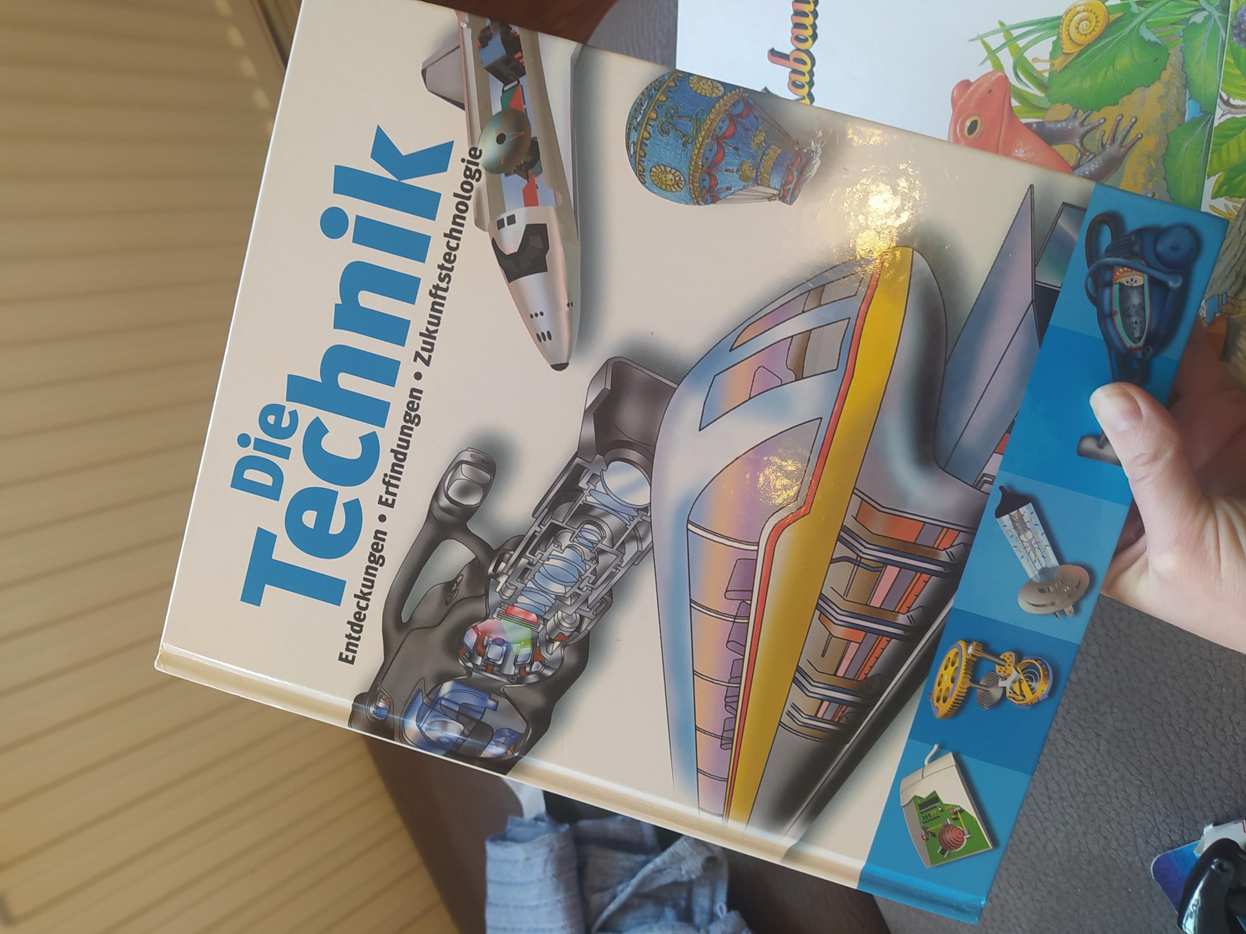 Die Technik Kinderbuch tauschen