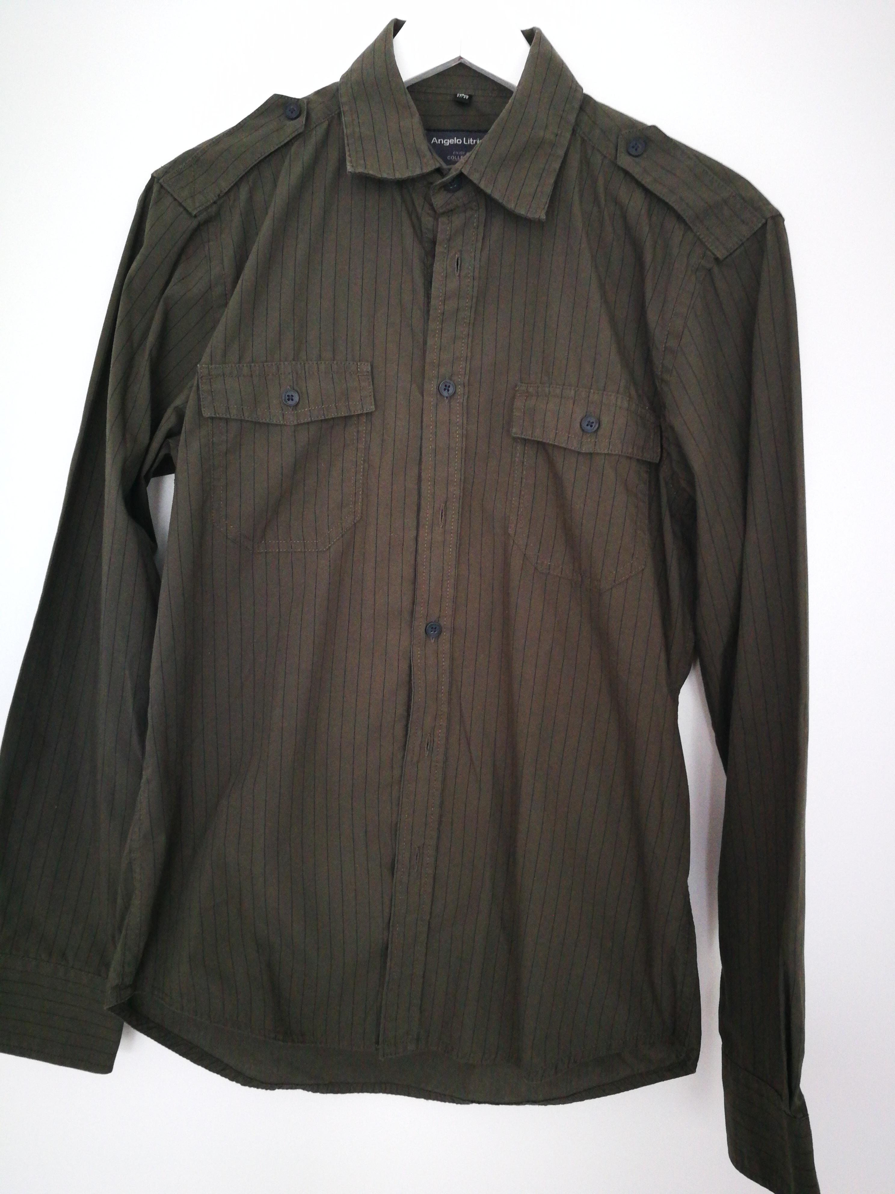 Hemd oliv Gr. S tauschen