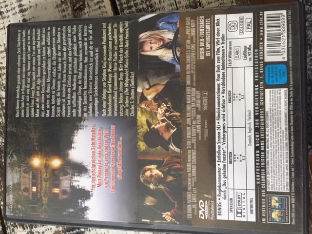 """DVD """"Das geheime Fenster"""" kostenlos"""