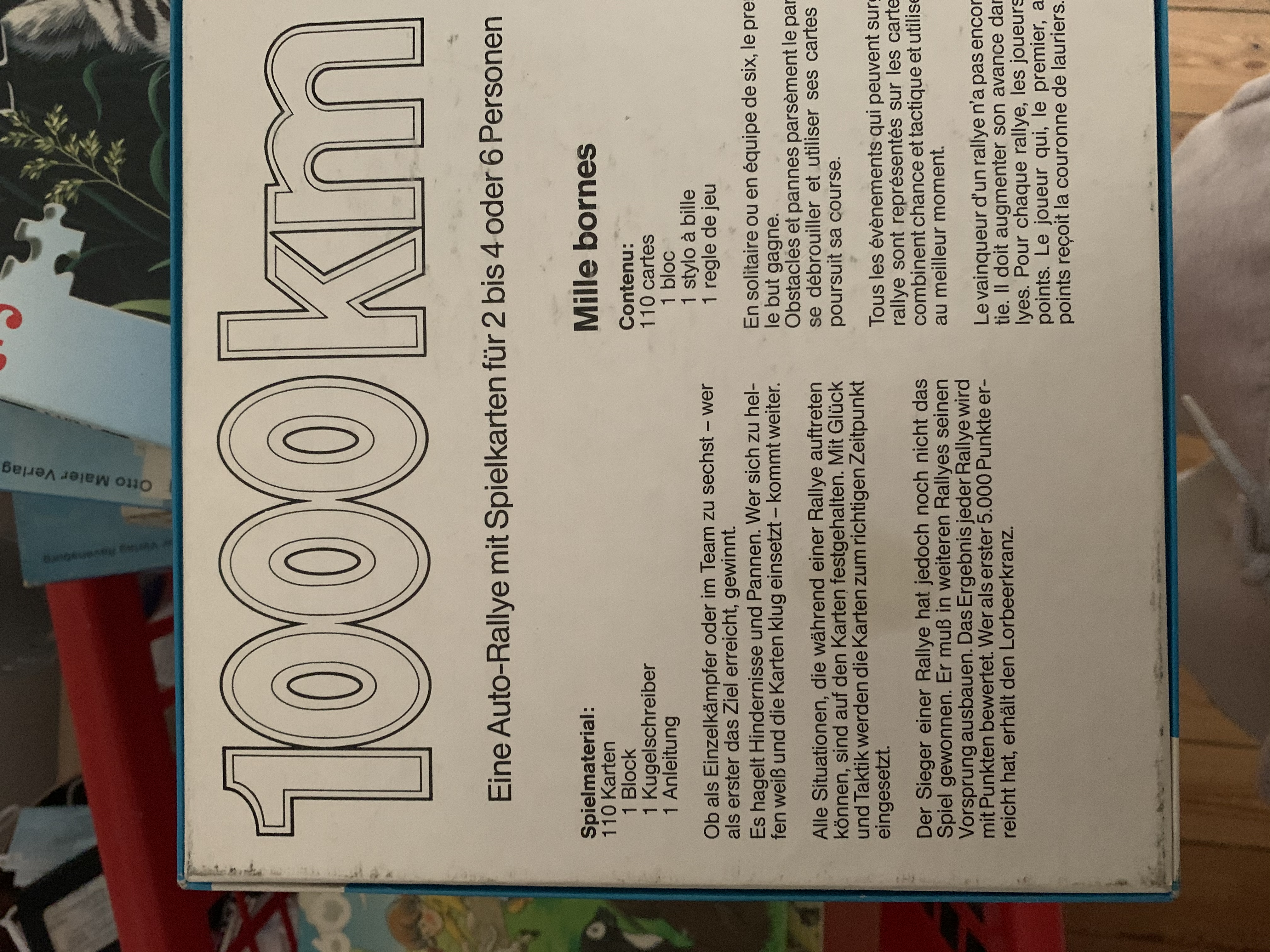 Spiel 1000km Auto Rallye kostenlos