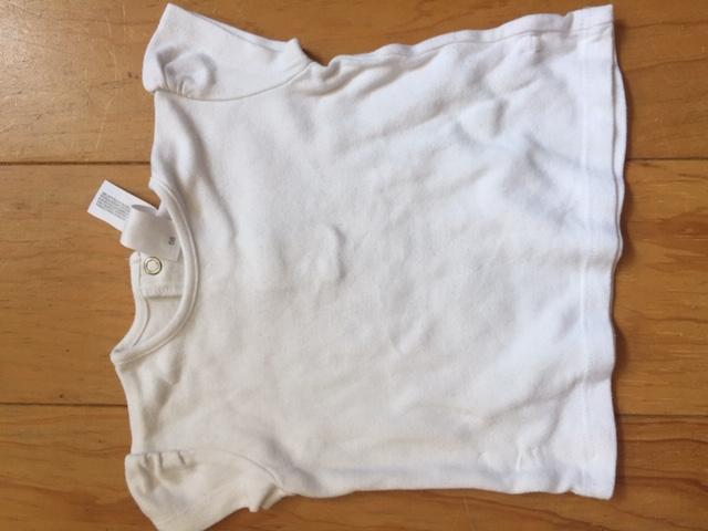 weißes Shirt 68  tauschen