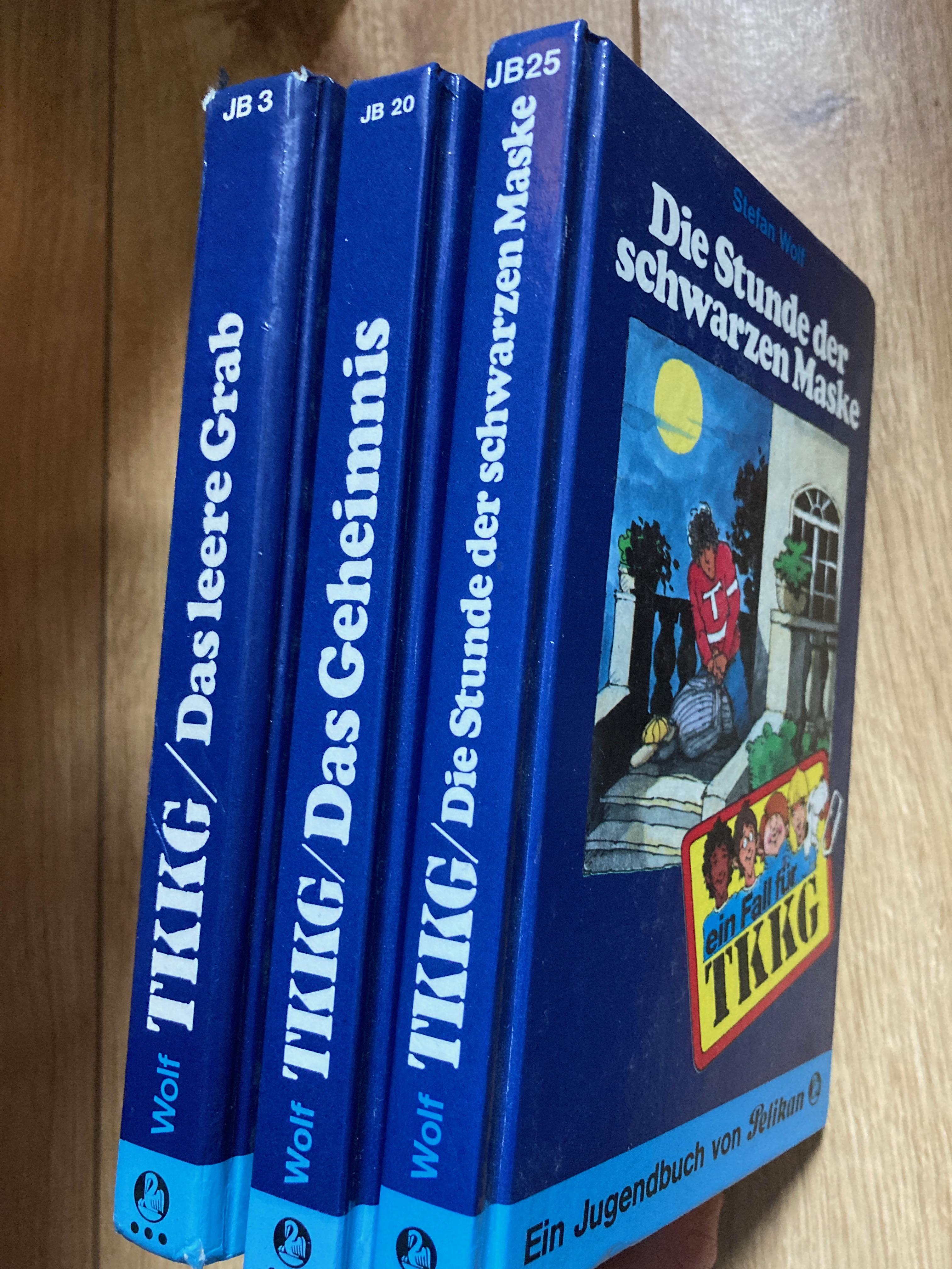 TKKG-Bücher tauschen