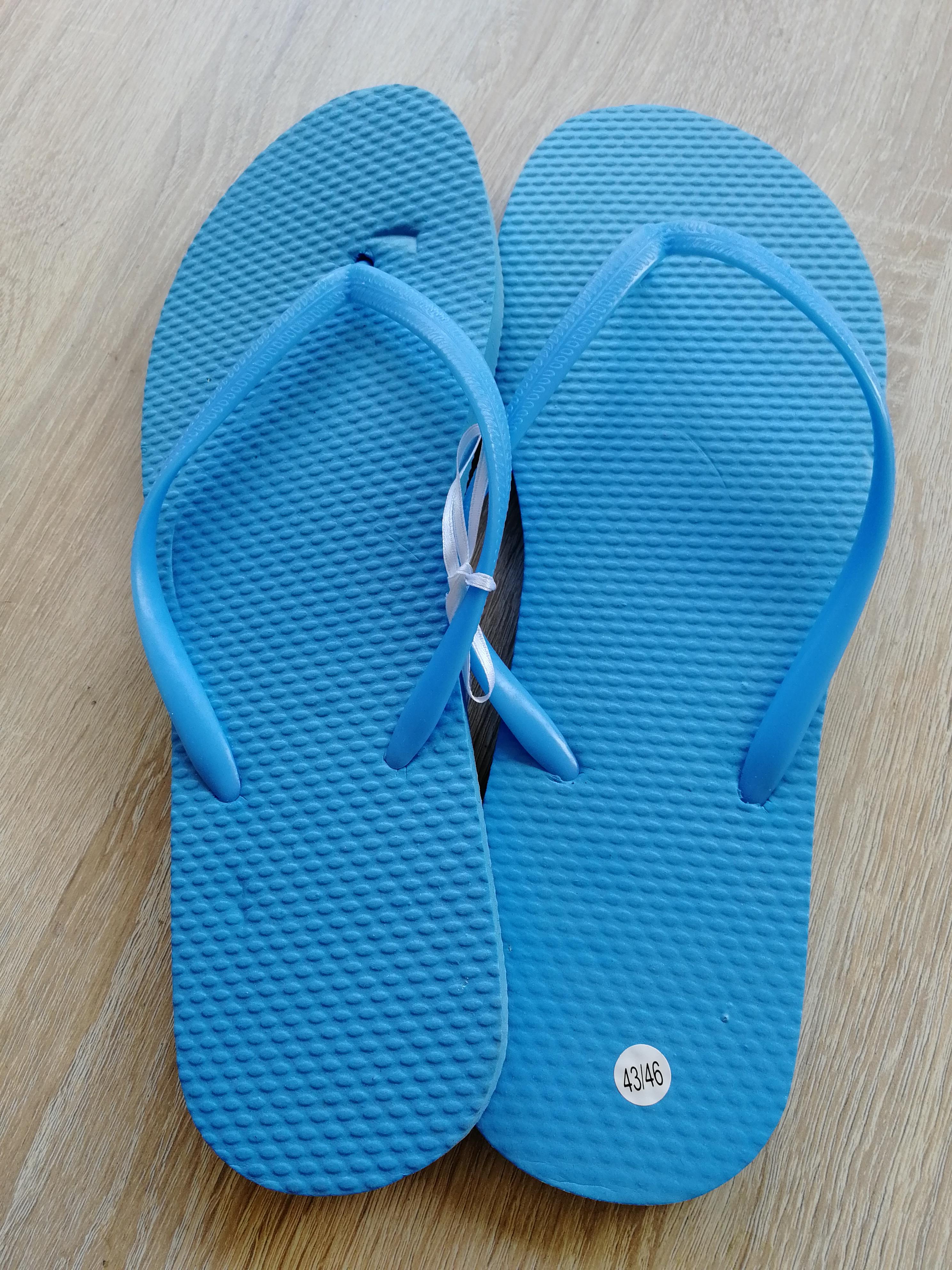 Blaue Flipflops Gr. 43/46 NEU tauschen